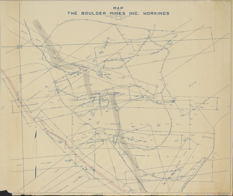 The Boulder Mines Inc. & Claims