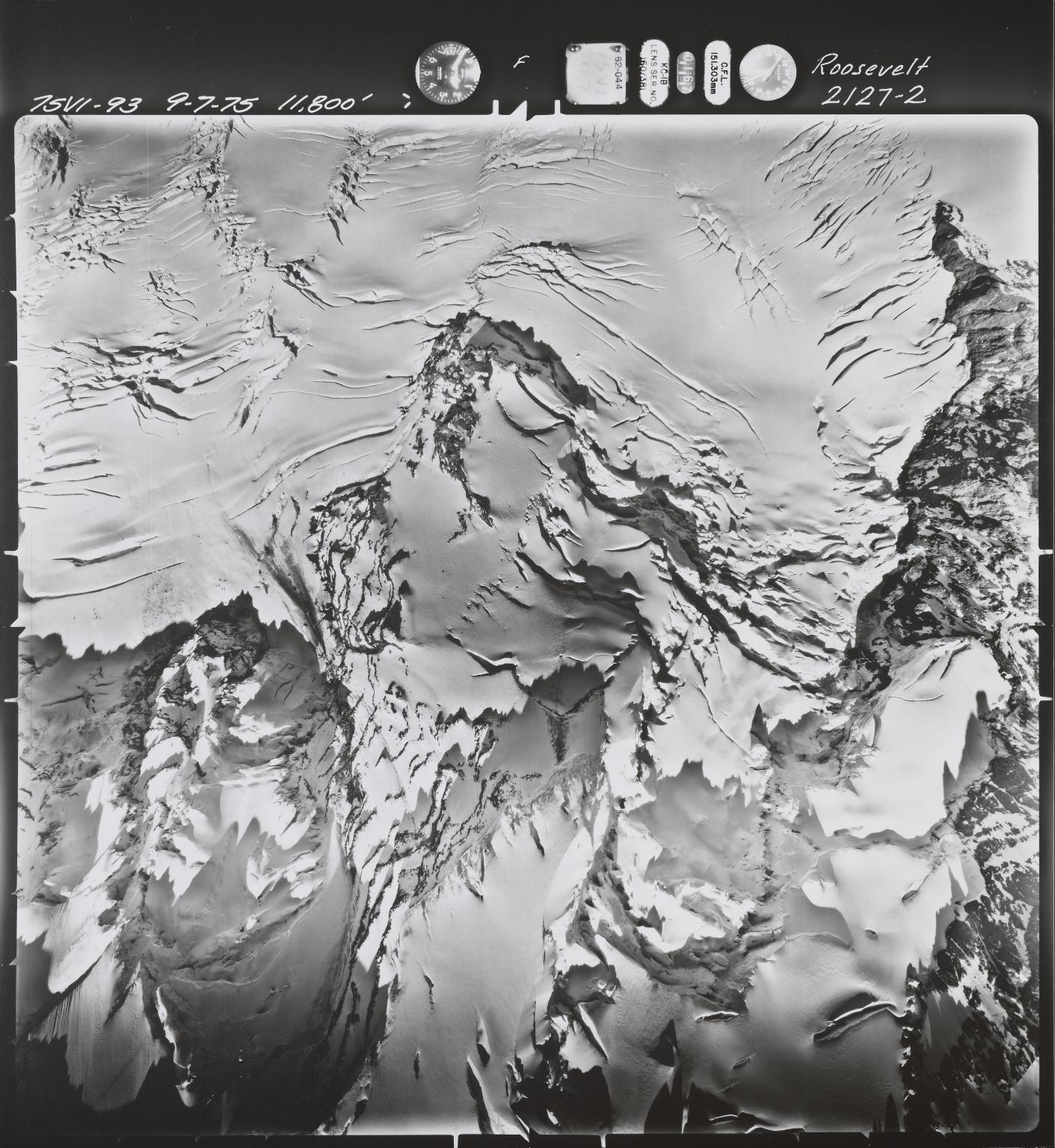 Roosevelt Glacier, Washington