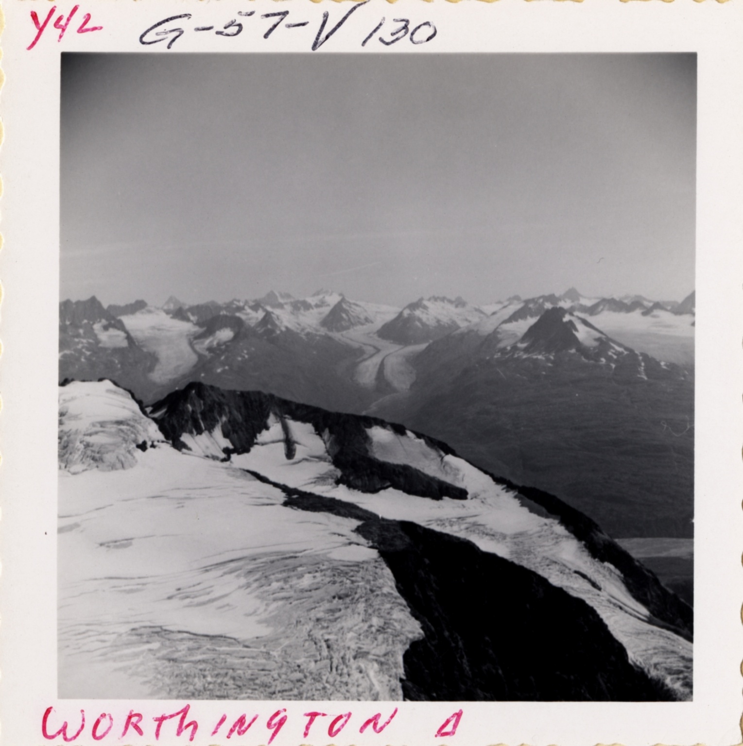 Worthington Glacier, Alaska, United States