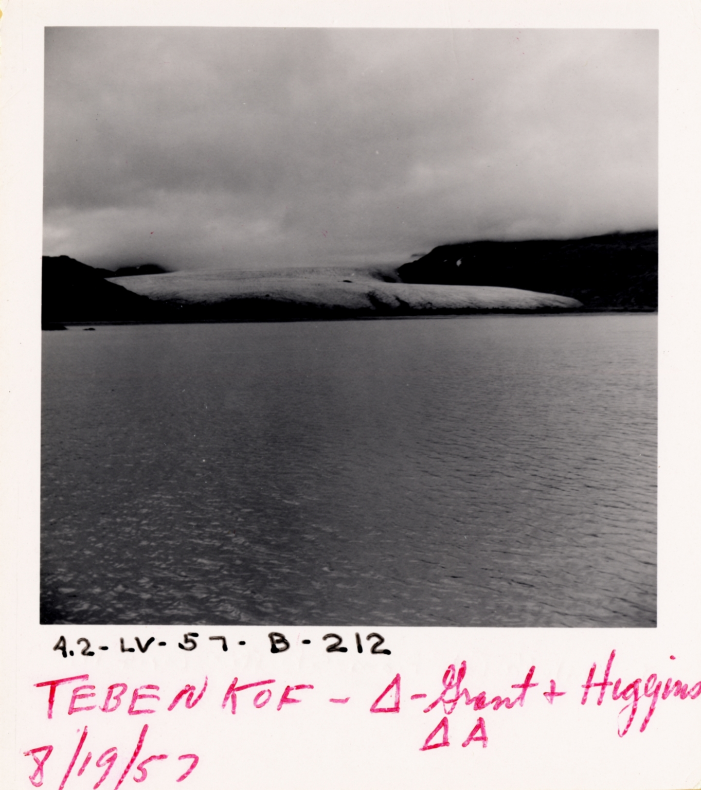 Tebenkof Glacier, Alaska, United States