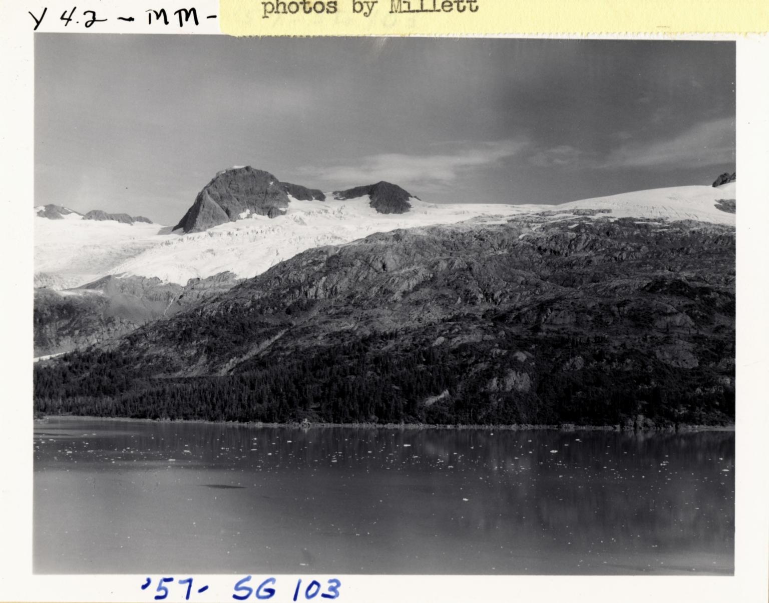 Unknown glacier, Blackstone Bay, Alaska, United States