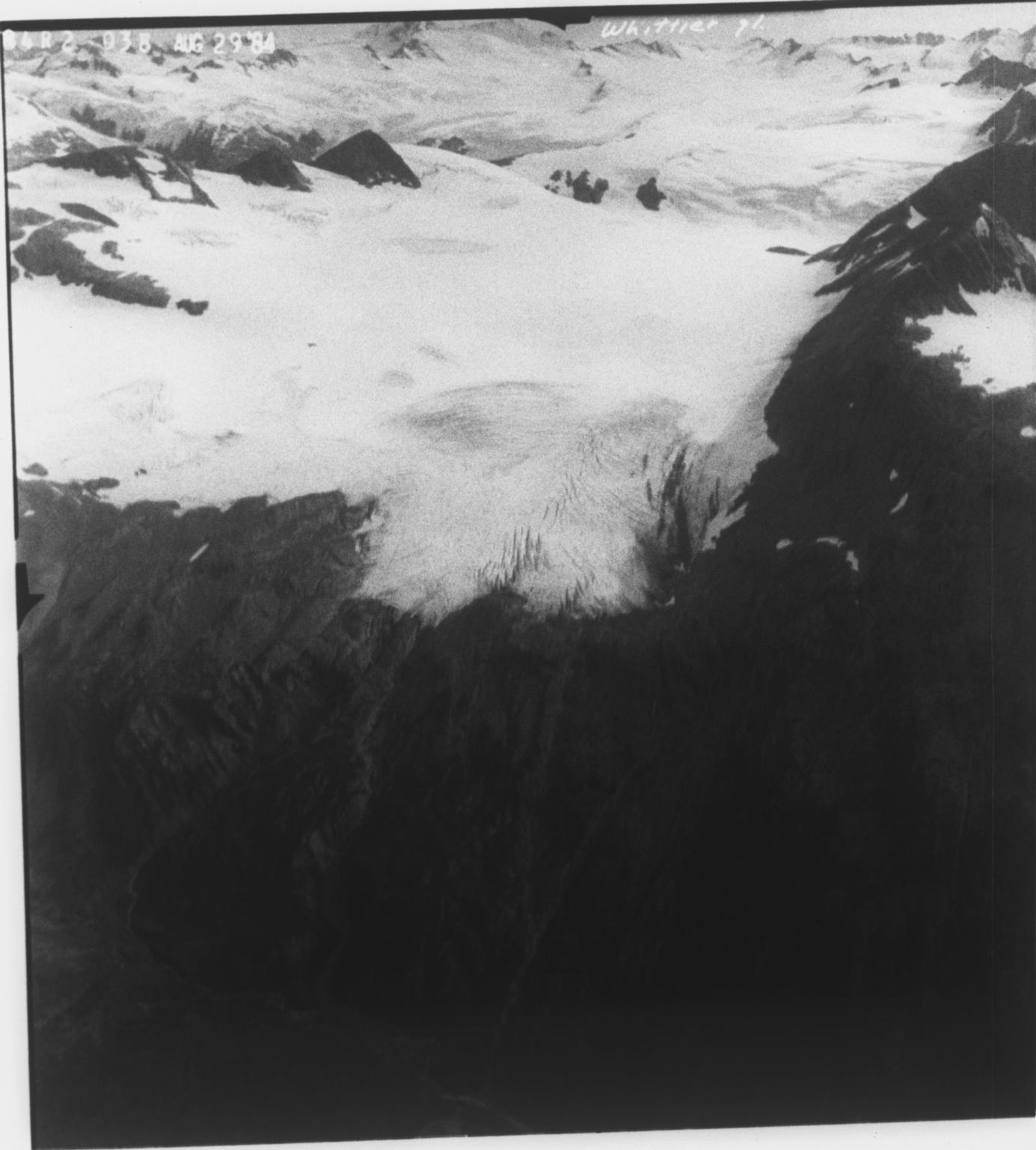 Whittier Glacier, Alaska, United States