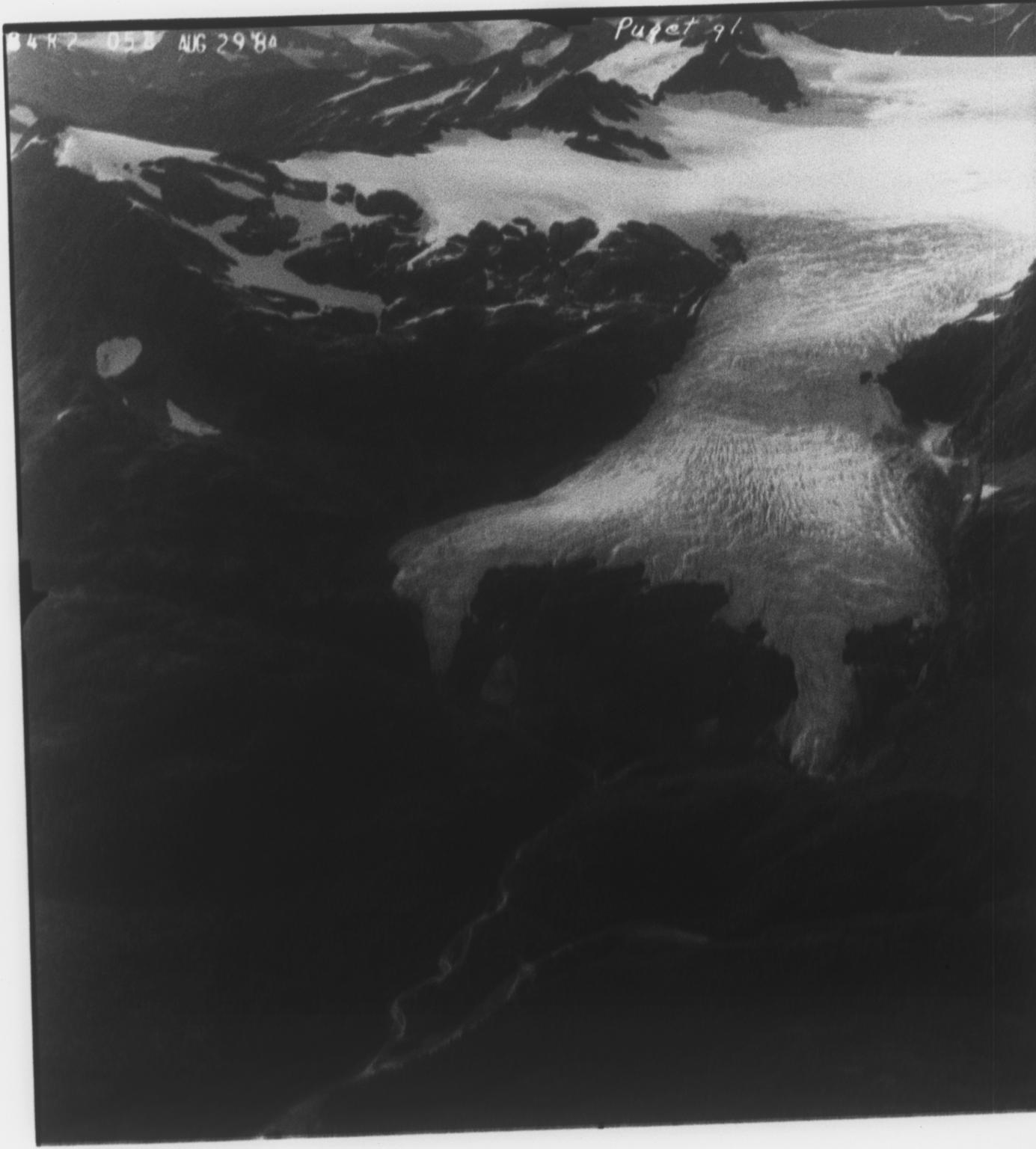 Puget Glacier, Alaska, United States