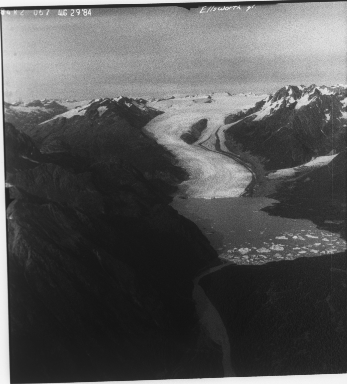Ellsworth Glacier, Alaska, United States