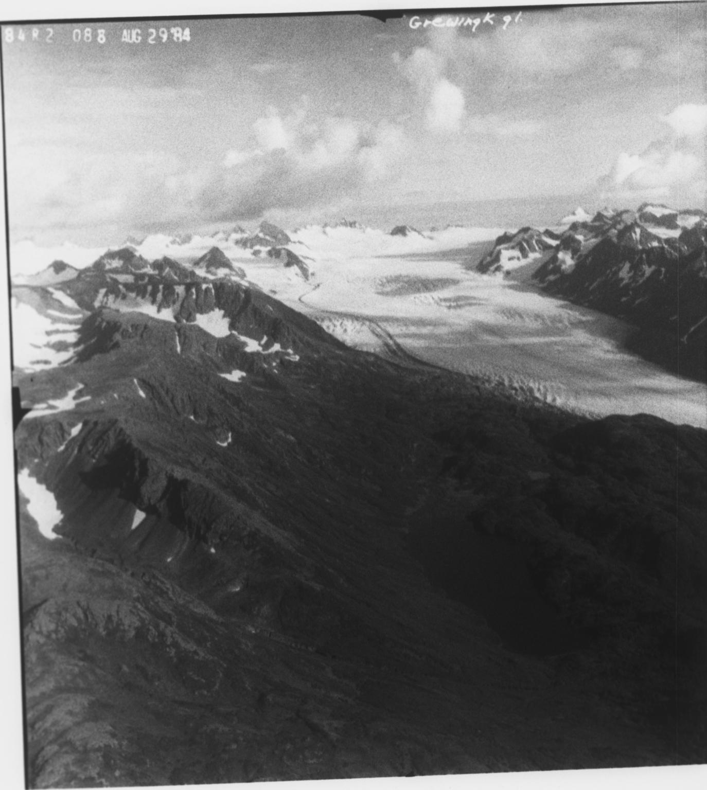 Grewingk Glacier, Alaska, United States