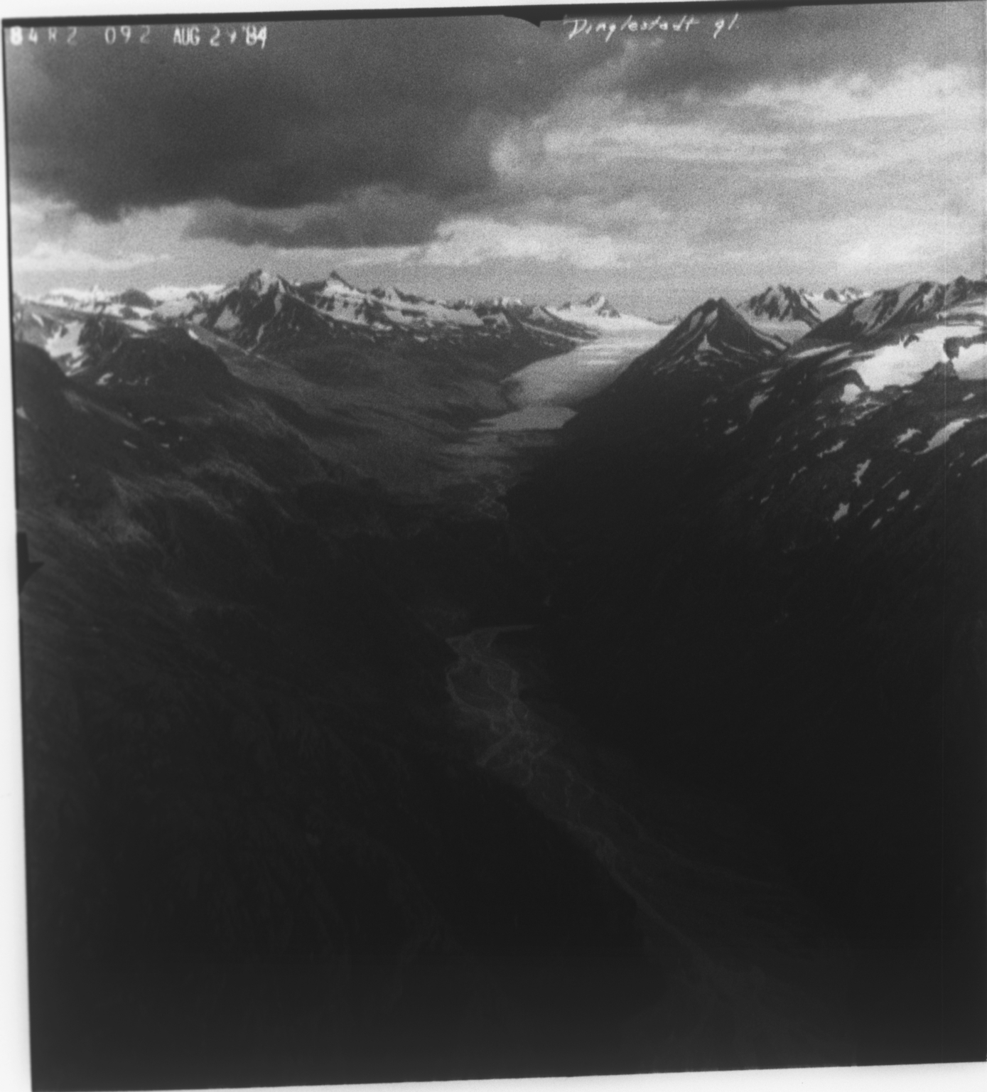 Dinglestadt Glacier, Alaska, United States