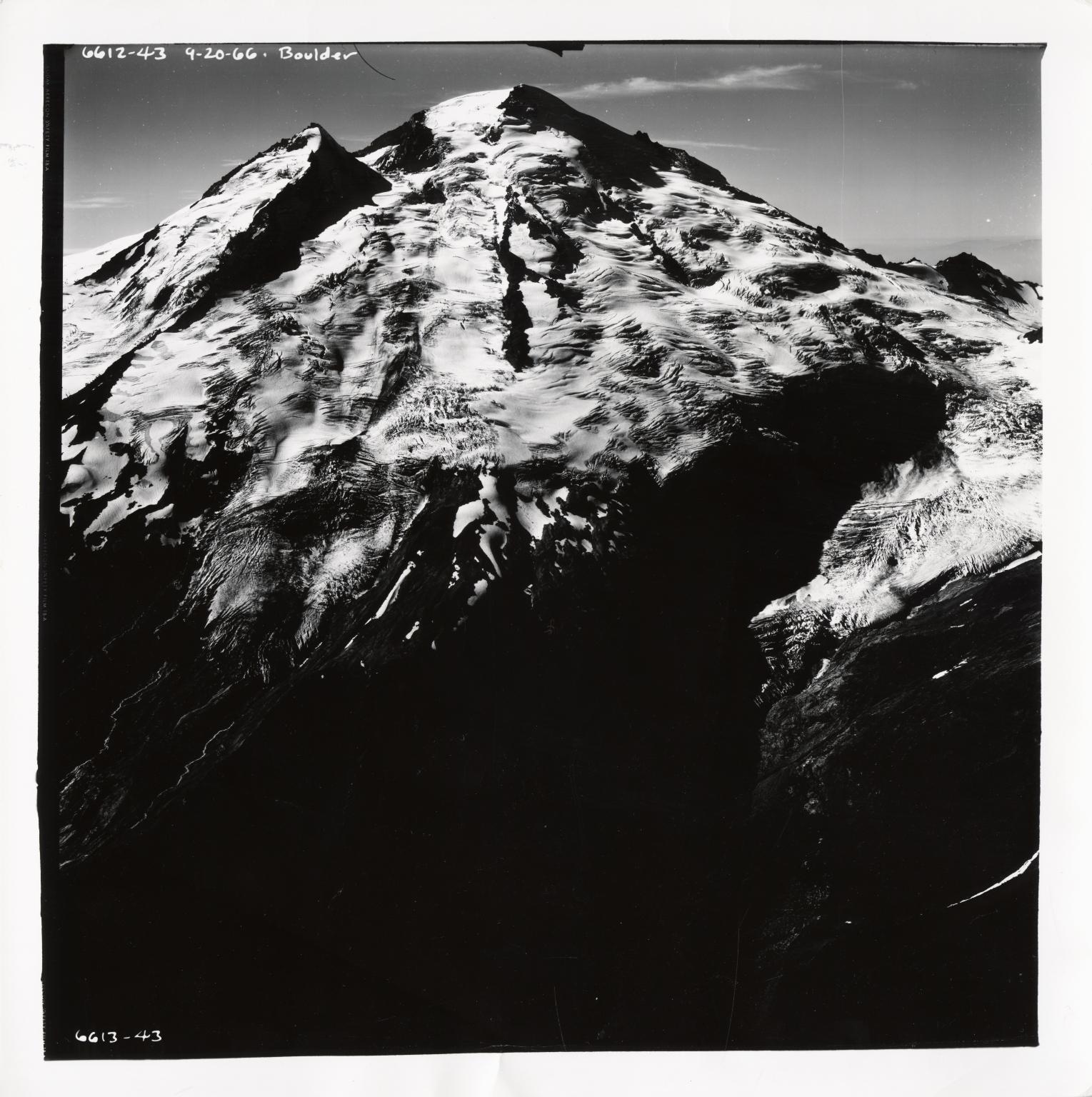 Boulder Glacier, Washington, United States
