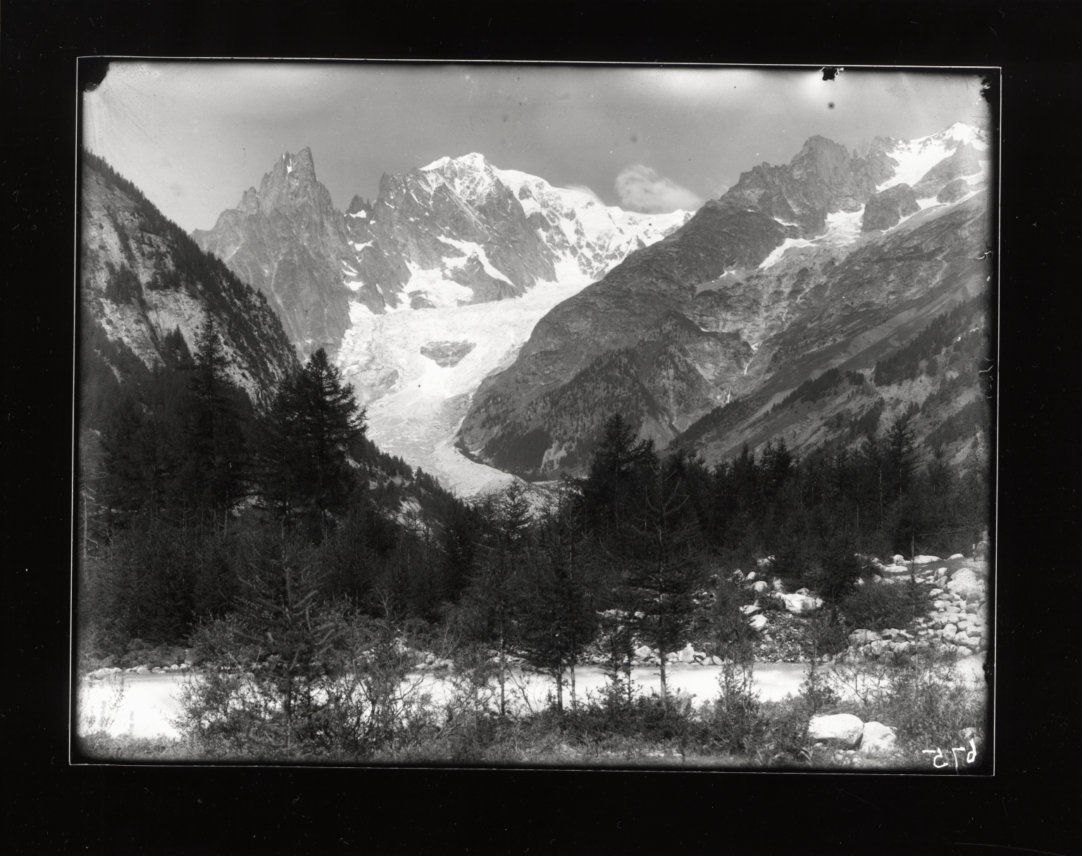 Brenva Glacier, Valle d' Aosta, Italy
