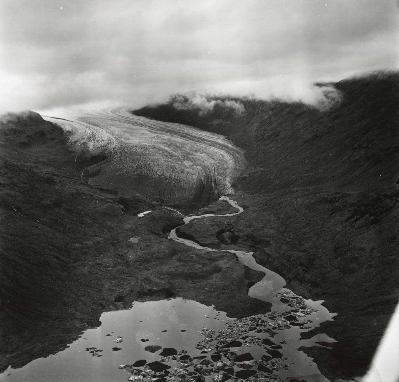 Cushing Glacier, Alaska, United States