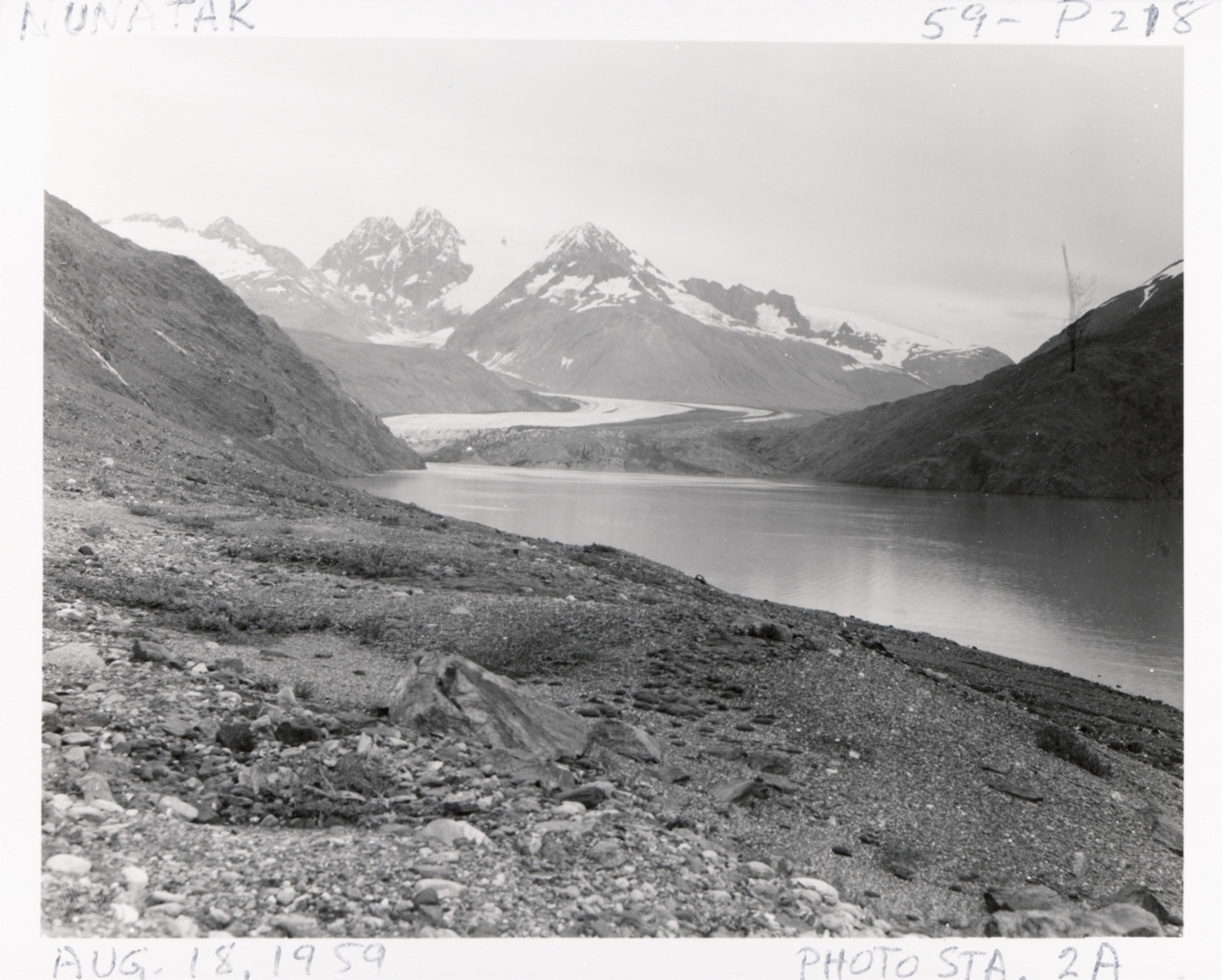 East Nunatak Glacier, Alaska, United States
