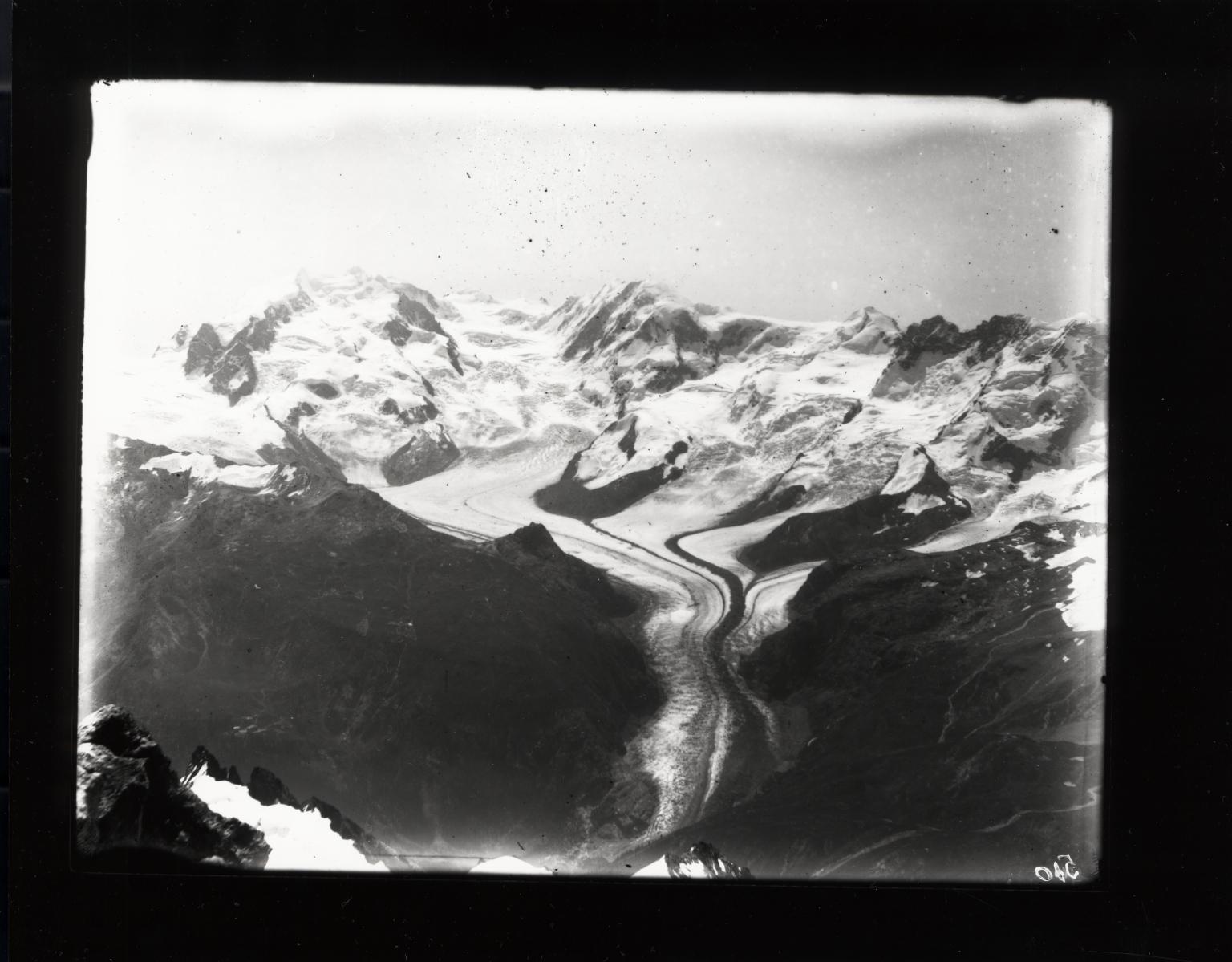 Gorner Glacier, Valais, Switzerland