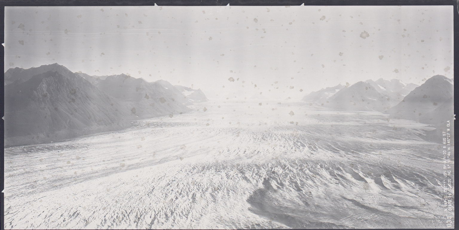 Tazlina Glacier, Alaska, United States