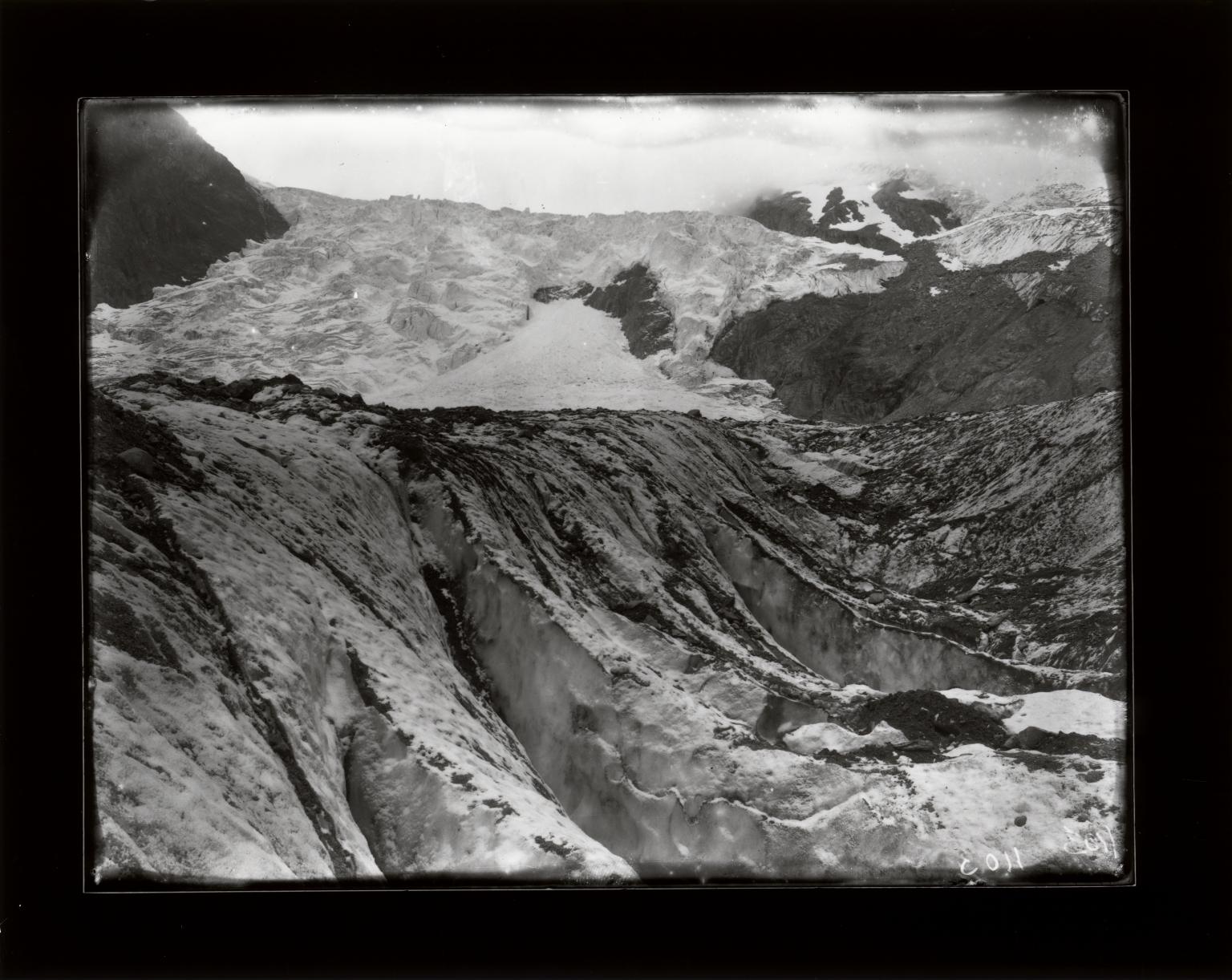 Mont Mine Glacier, Valais, Switzerland