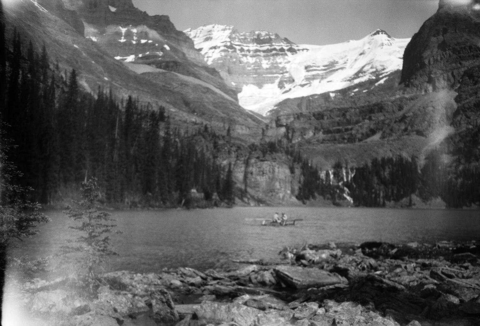 Unknown glacier, Lake O'Hara, British Columbia, Canada
