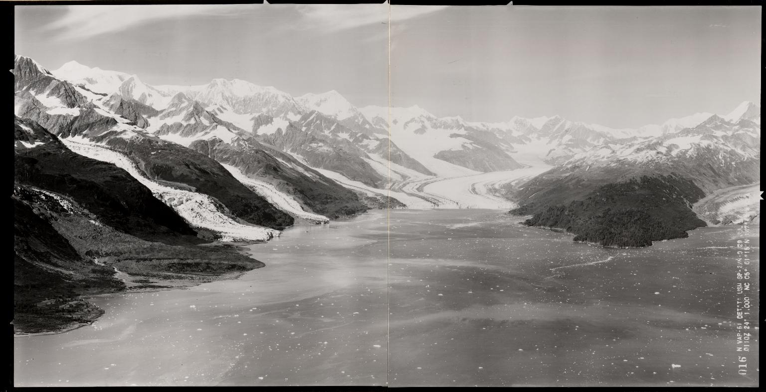Glaciers of College Fiord, Alaska, United States