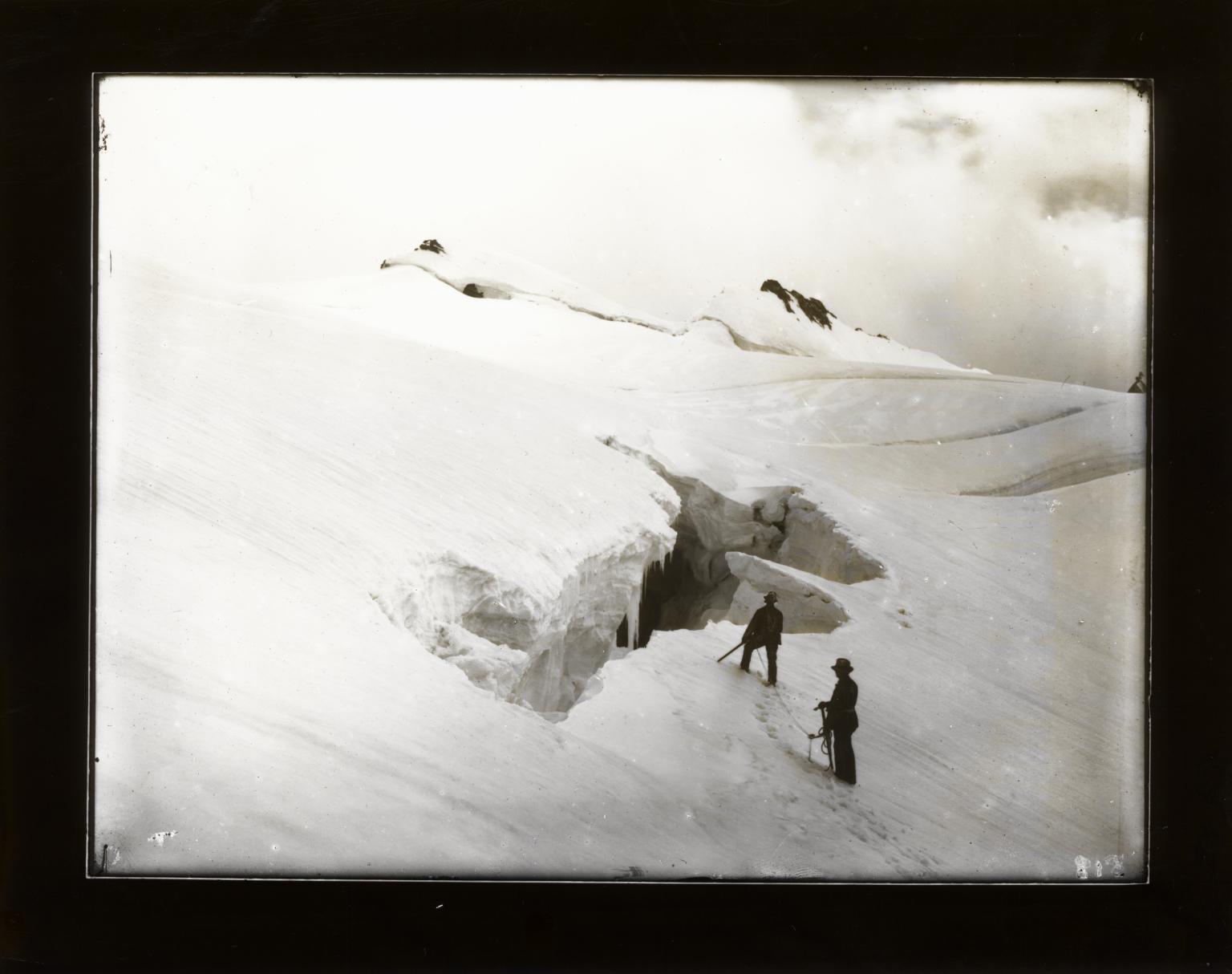 Zadezen Glacier, Italy and Switzerland