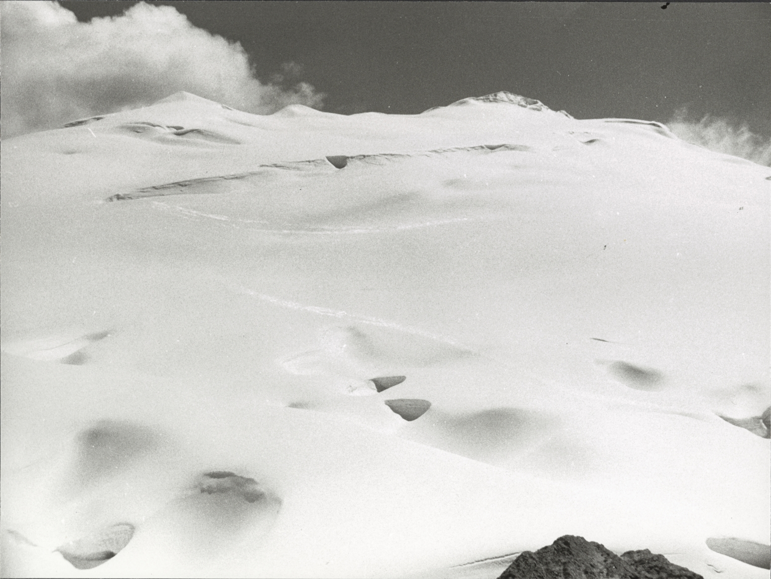Carstensz Glacier accumulation zone, Indonesia
