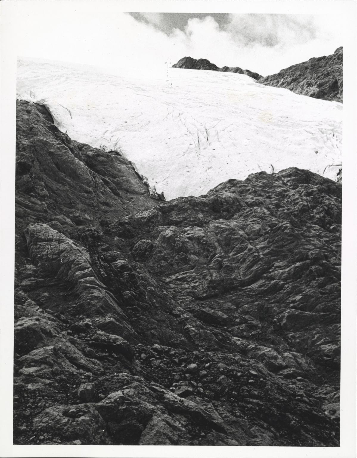 Glacier in the Irian Jaya, Indonesia