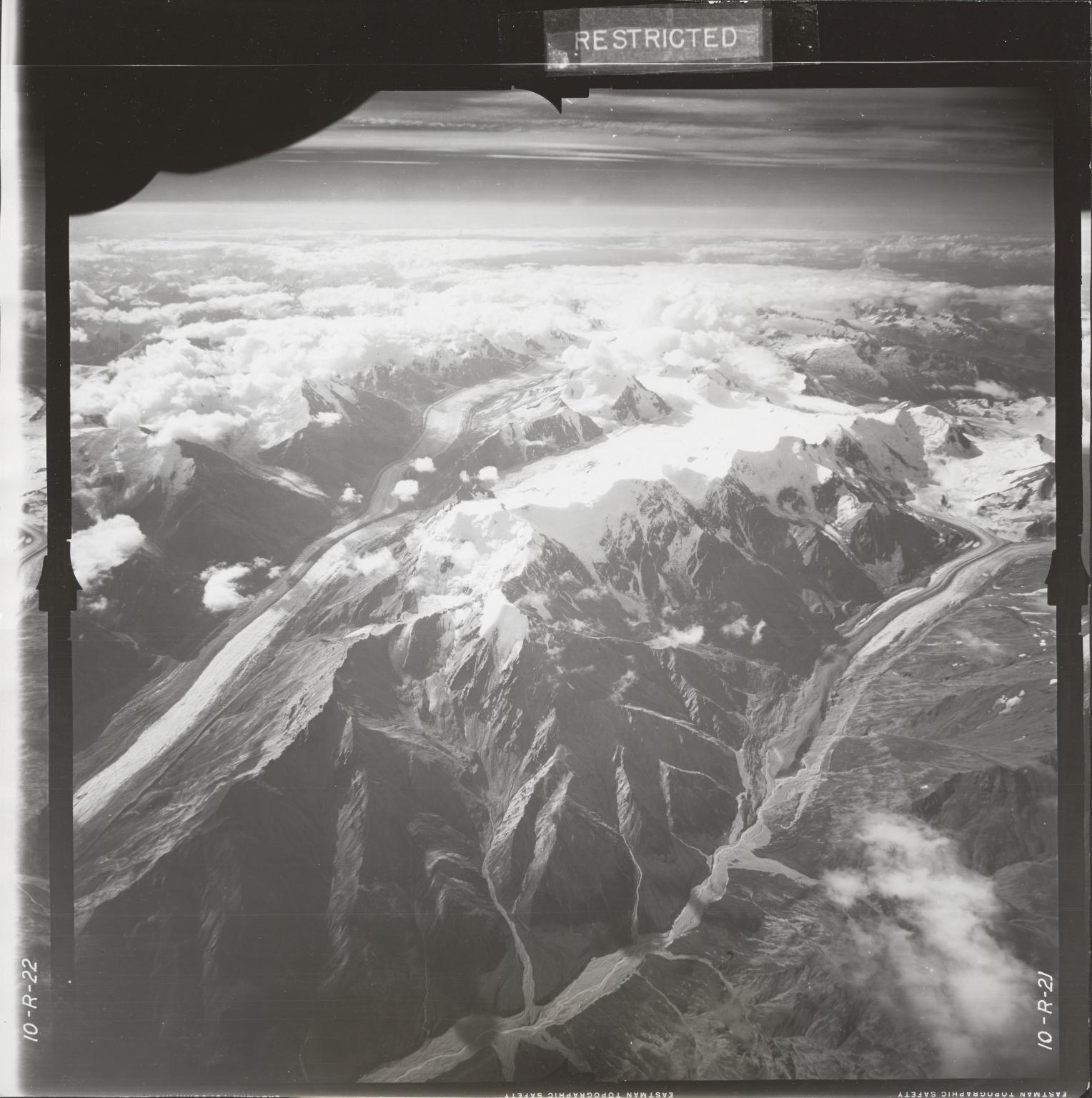 At head of Gerstle River, aerial photograph FL 18 R-21, Alaska
