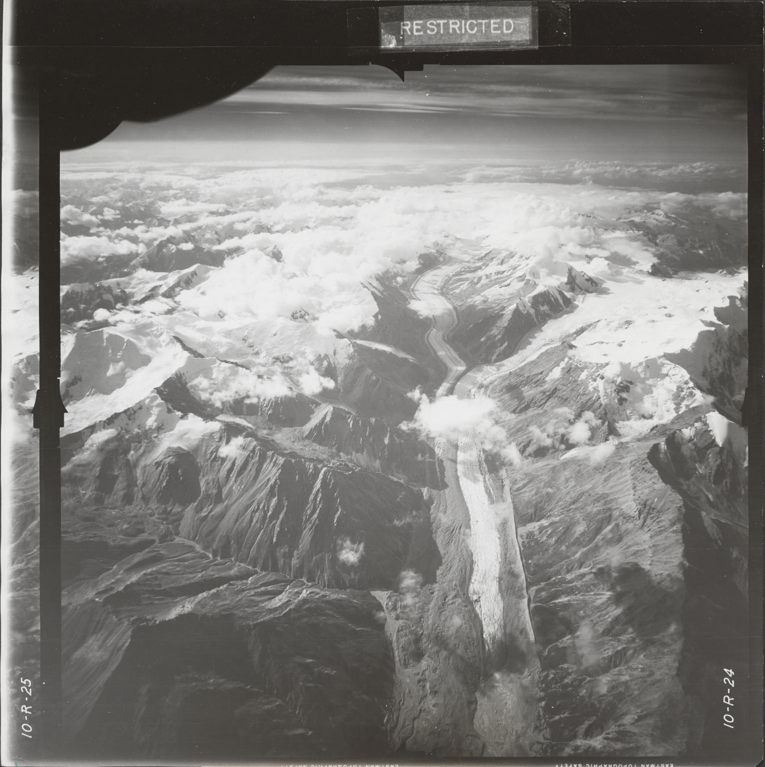 Gerstle River, aerial photograph FL 18 R-24, Alaska