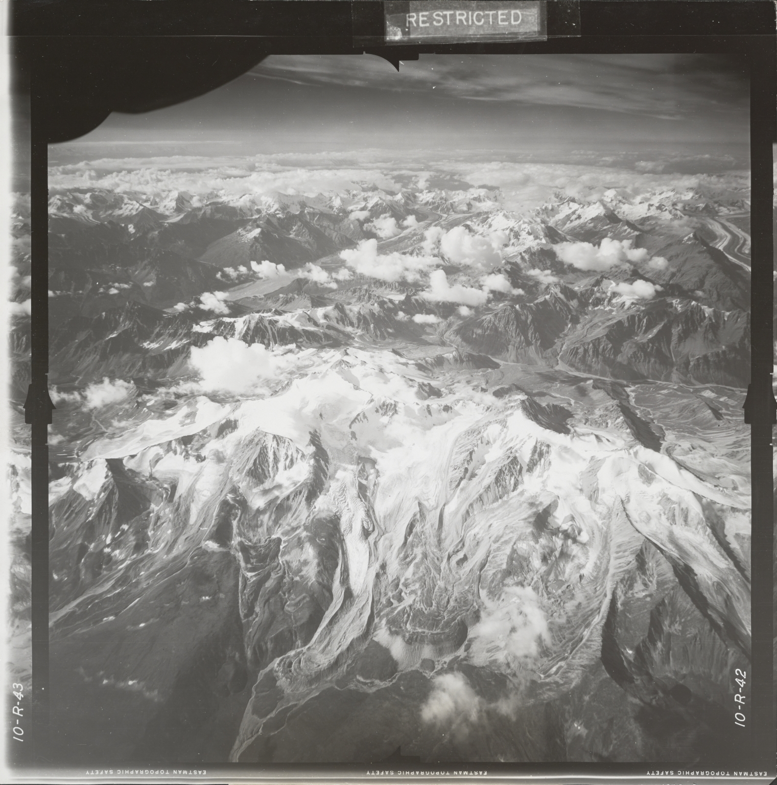 Johnson River, aerial photograph FL 18 R-42, Alaska