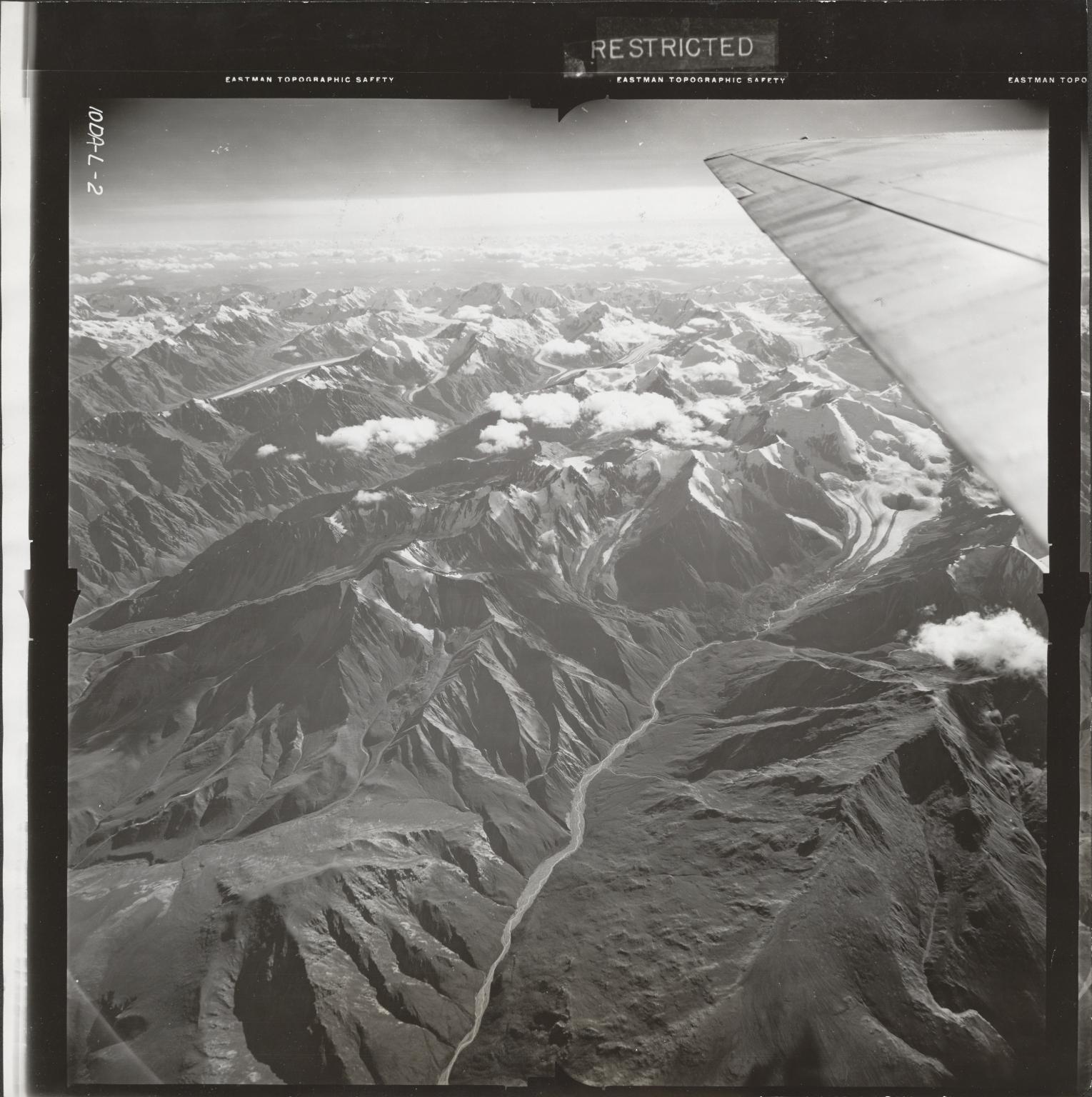 Little Gerstle River, aerial photograph FL 20 L-2, Alaska