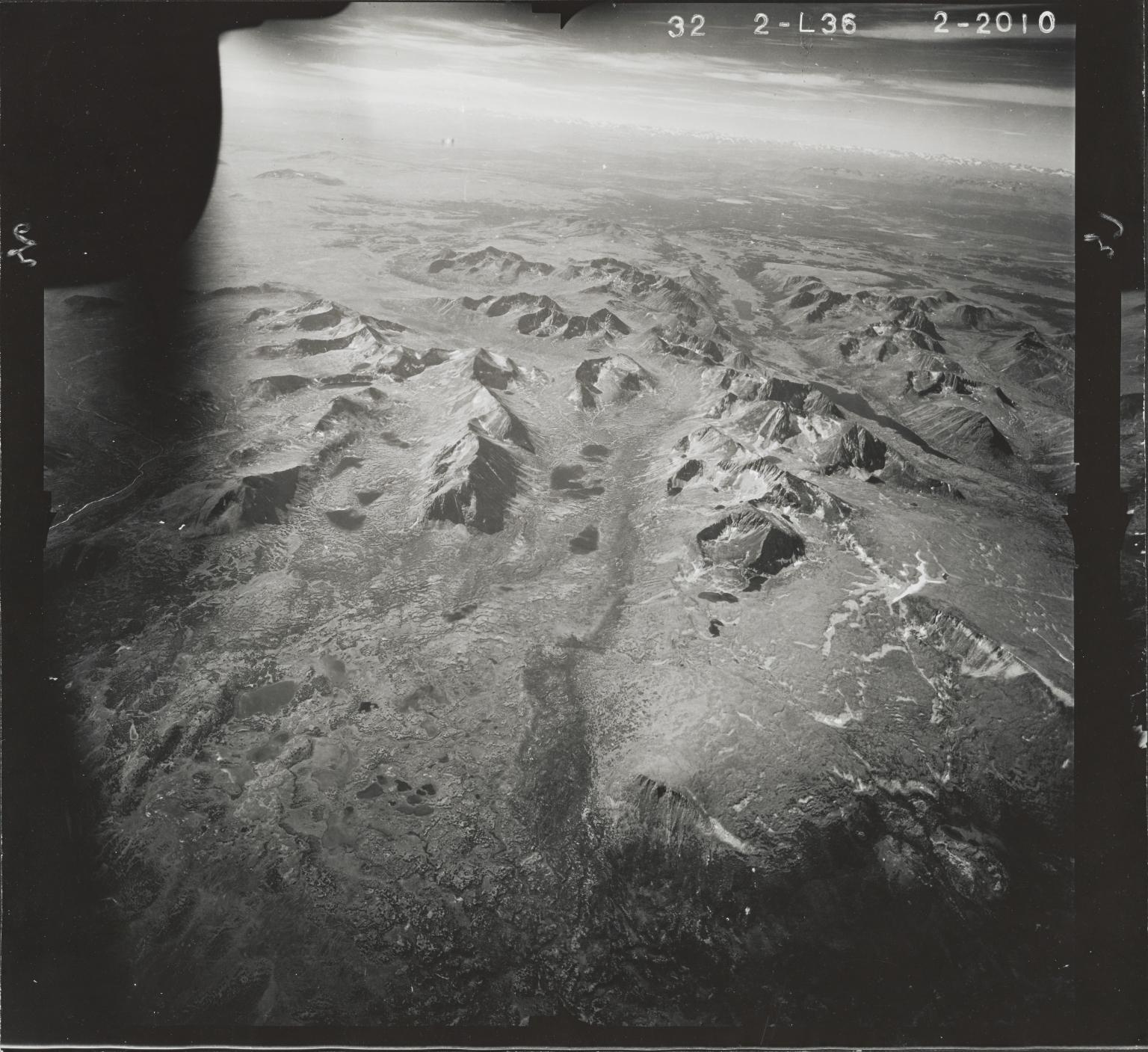 Jennings River, aerial photograph FL 47 L-36, British Columbia