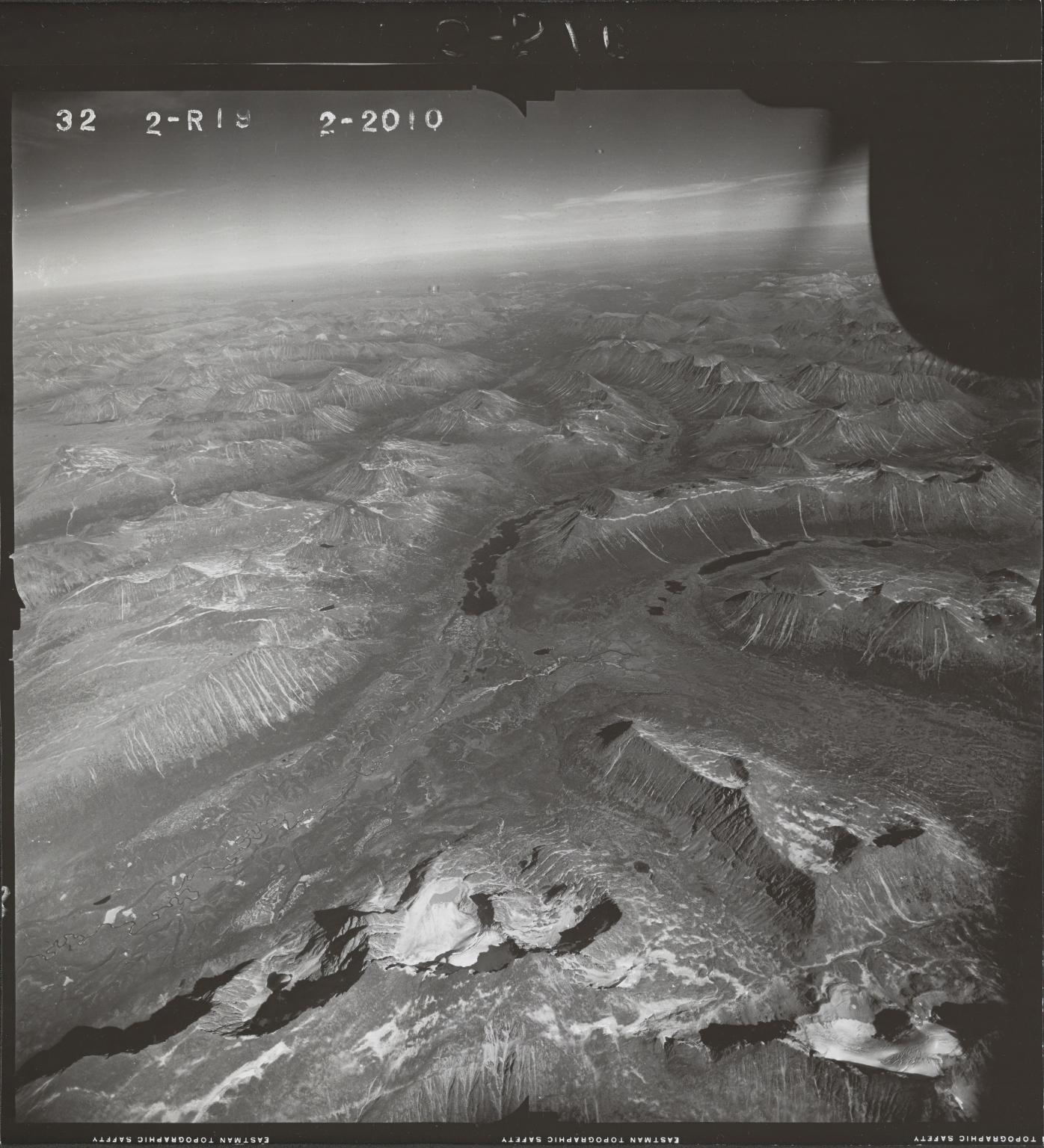Jennings River, aerial photograph FL 47 R-19, British Columbia
