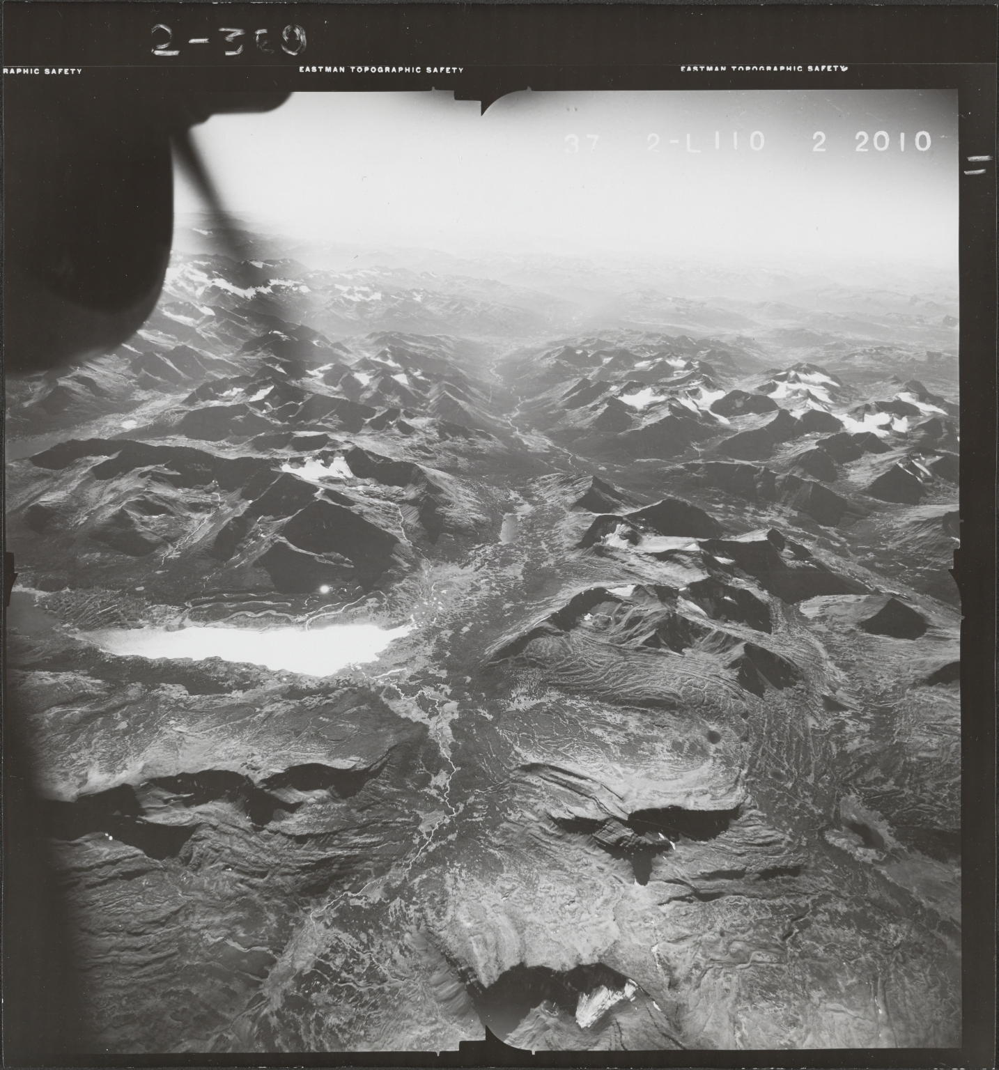 Duti River, aerial photograph FL 49 L-110, British Columbia