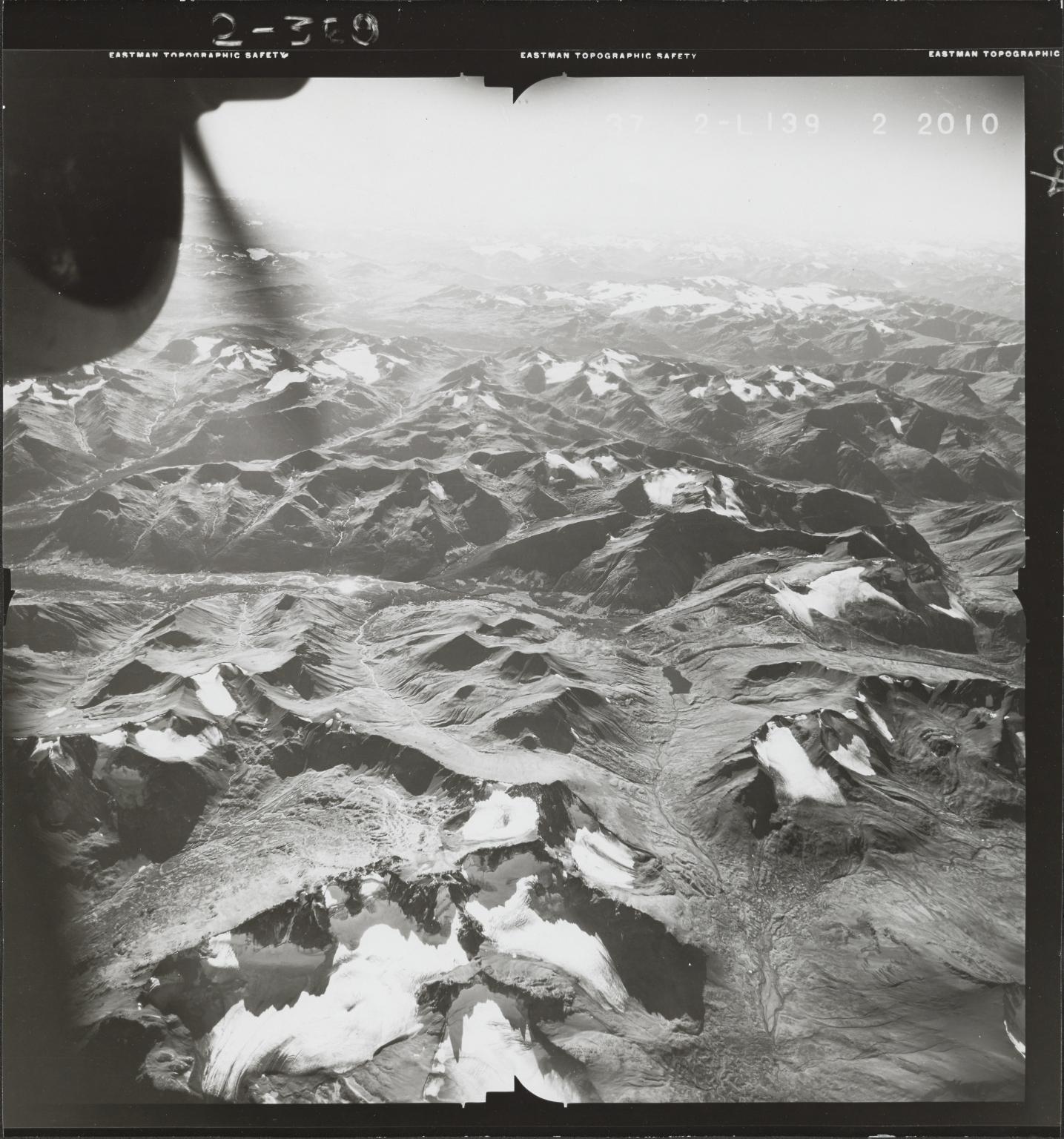 Klappan Range, aerial photograph FL 49 L-139, British Columbia