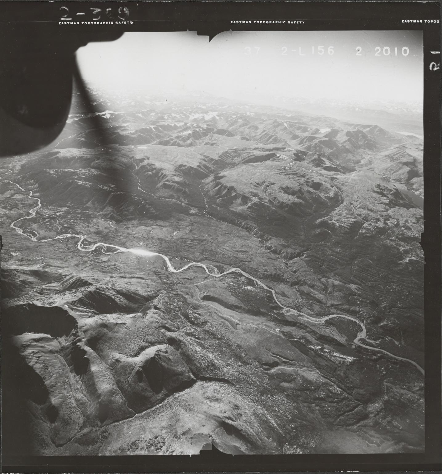 West of Klappan River, aerial photograph FL 49 L-156, British Columbia