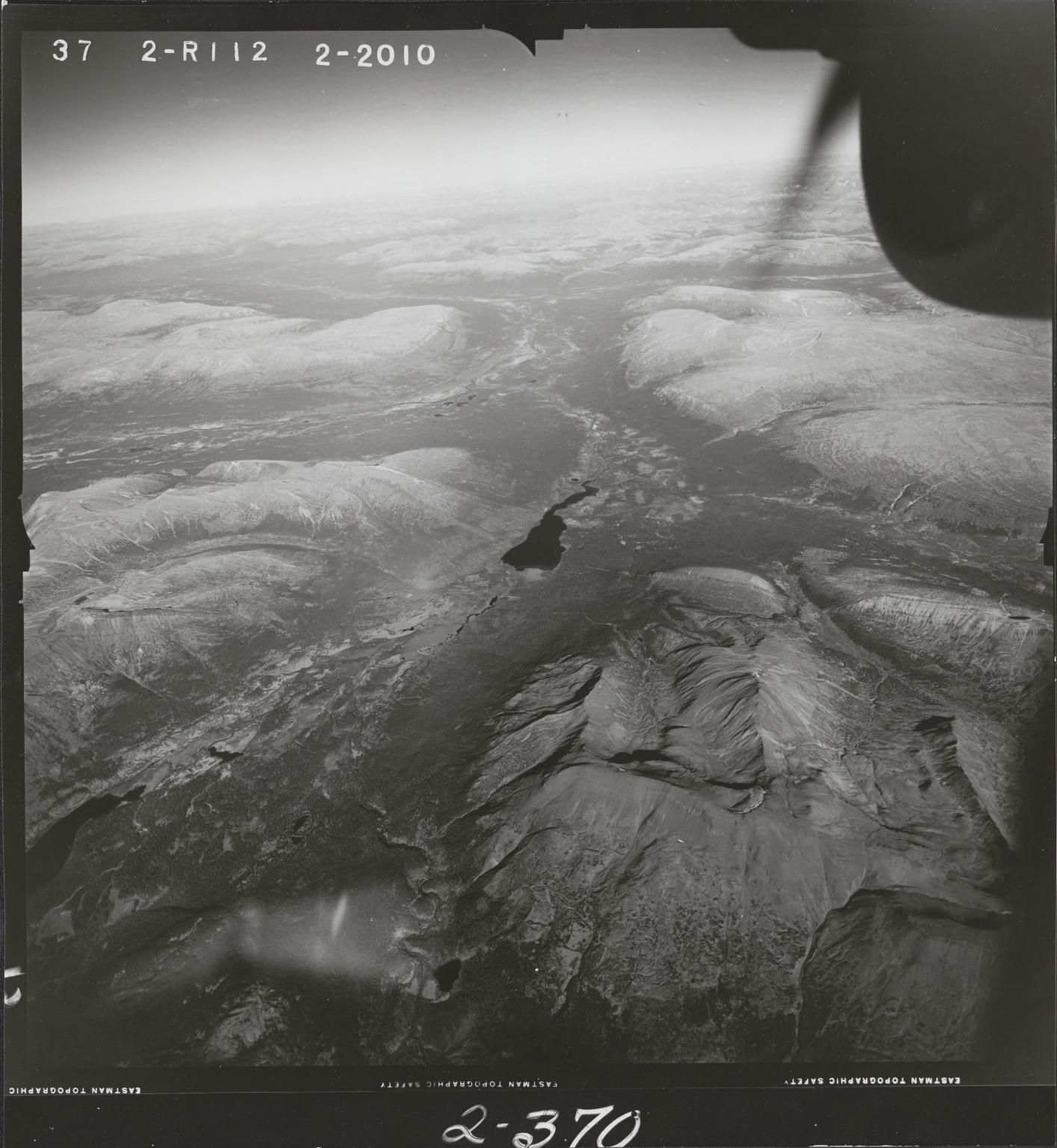 Klappan Range, aerial photograph FL 49 R-112, British Columbia