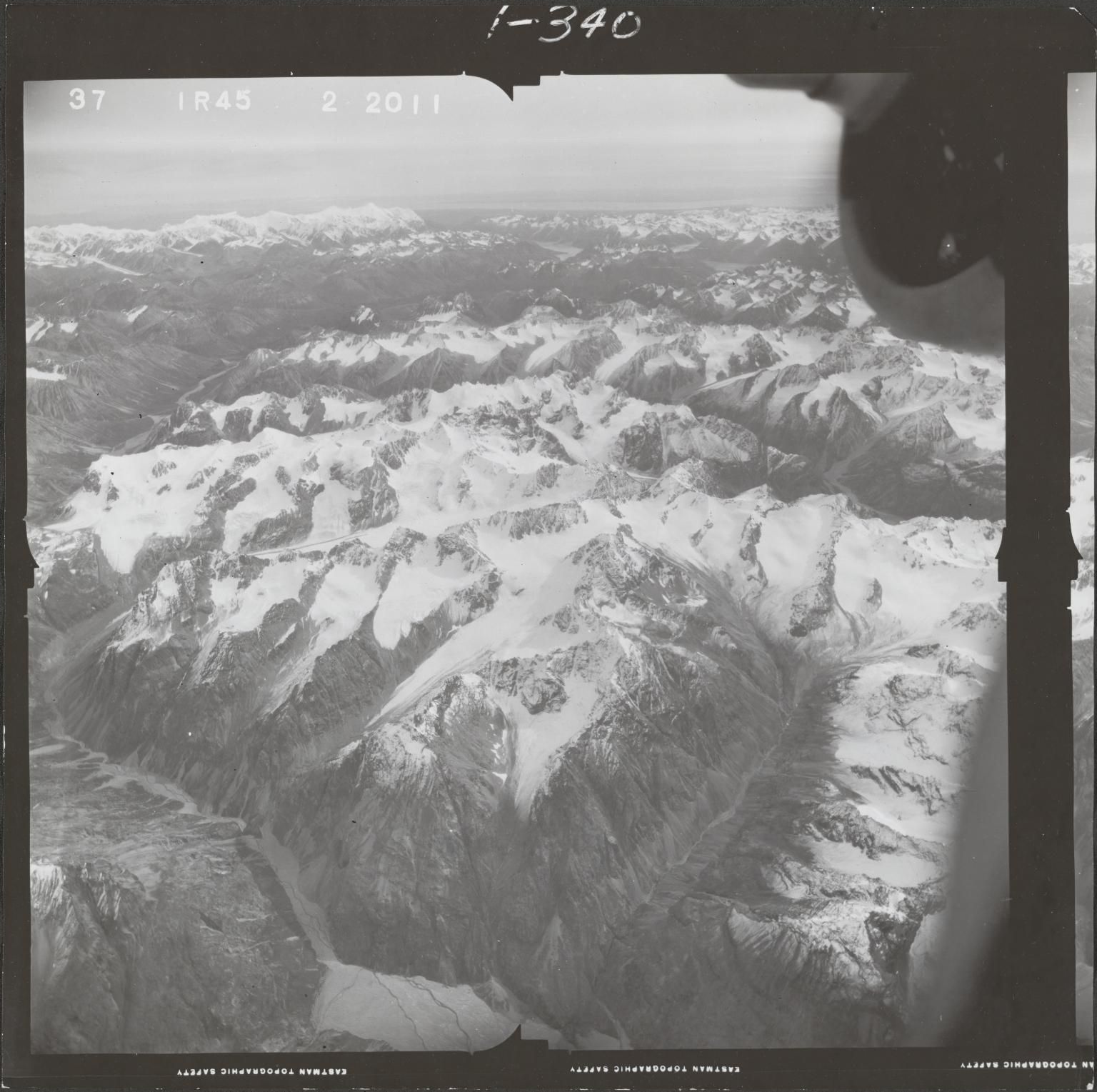 Ch'akajabena Lake, aerial photograph FL 68 R-45, Alaska