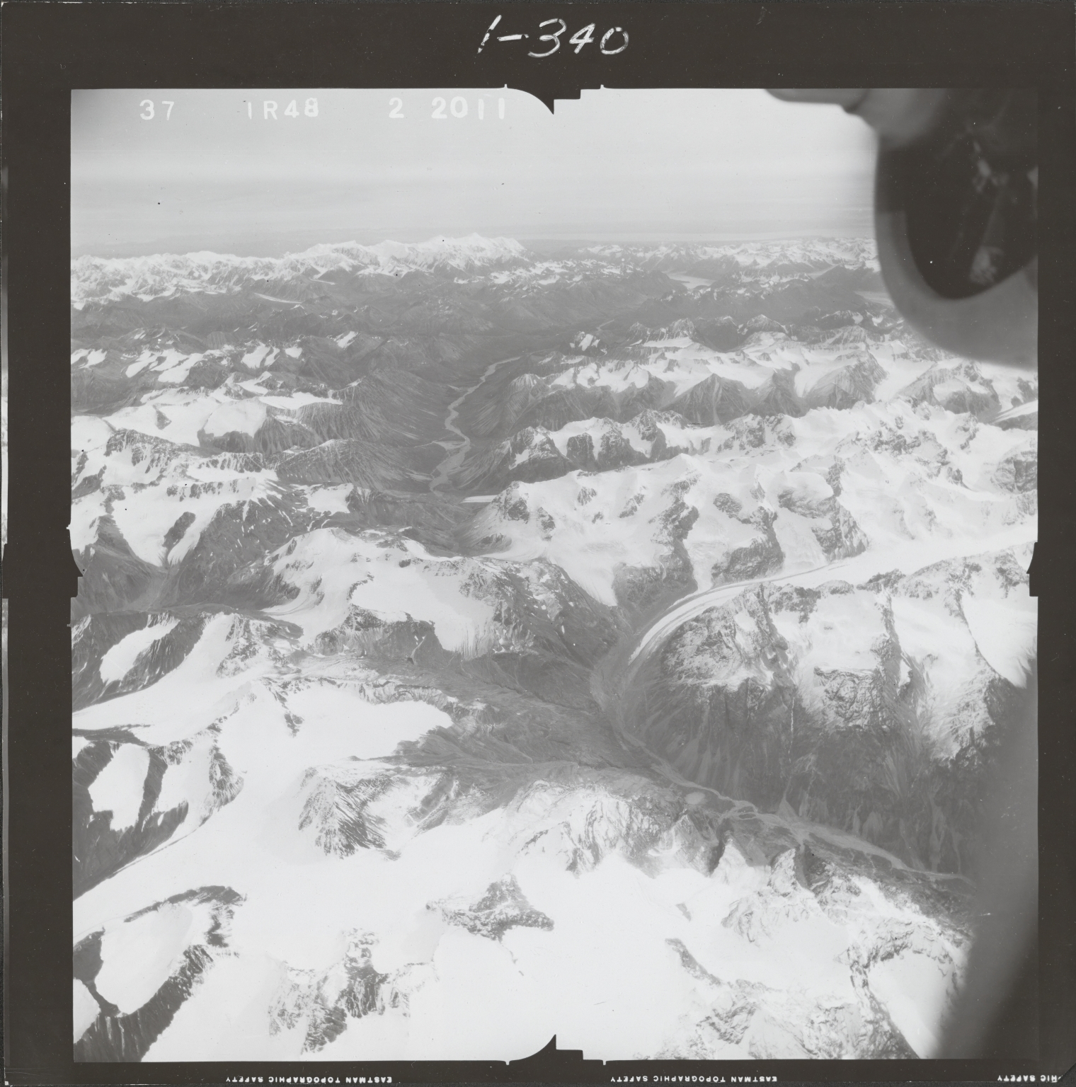 Northwest of Ch'akajabena Lake, aerial photograph FL 68 R-48, Alaska