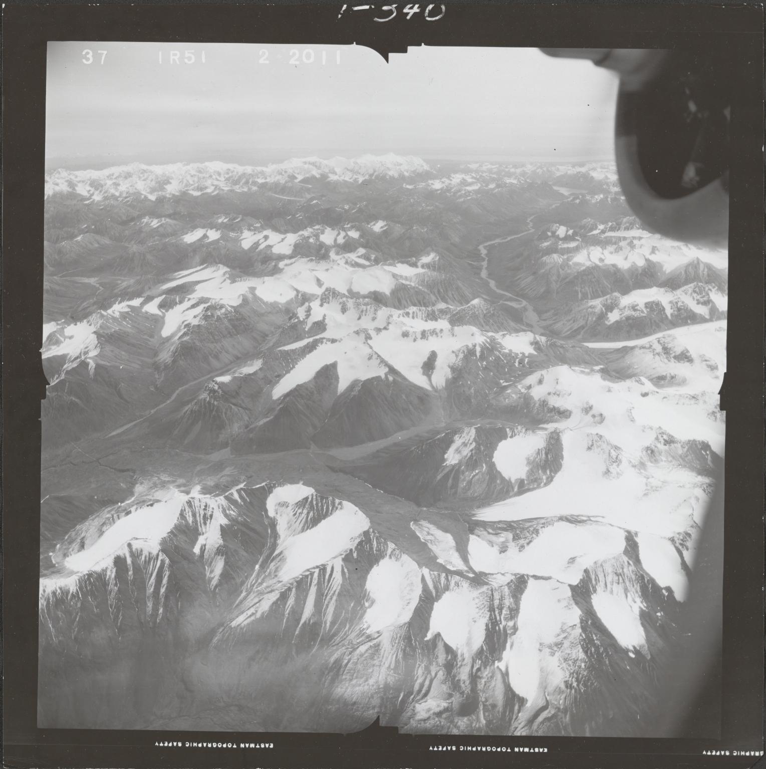 Ch'akajabena Lake, aerial photograph FL 68 R-51, Alaska
