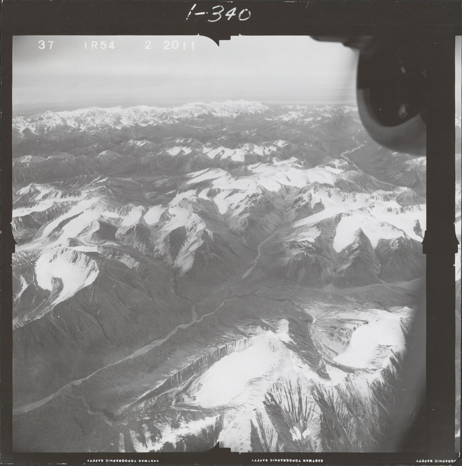 Northwest of Ch'akajabena Lake, aerial photograph FL 68 R-54, Alaska