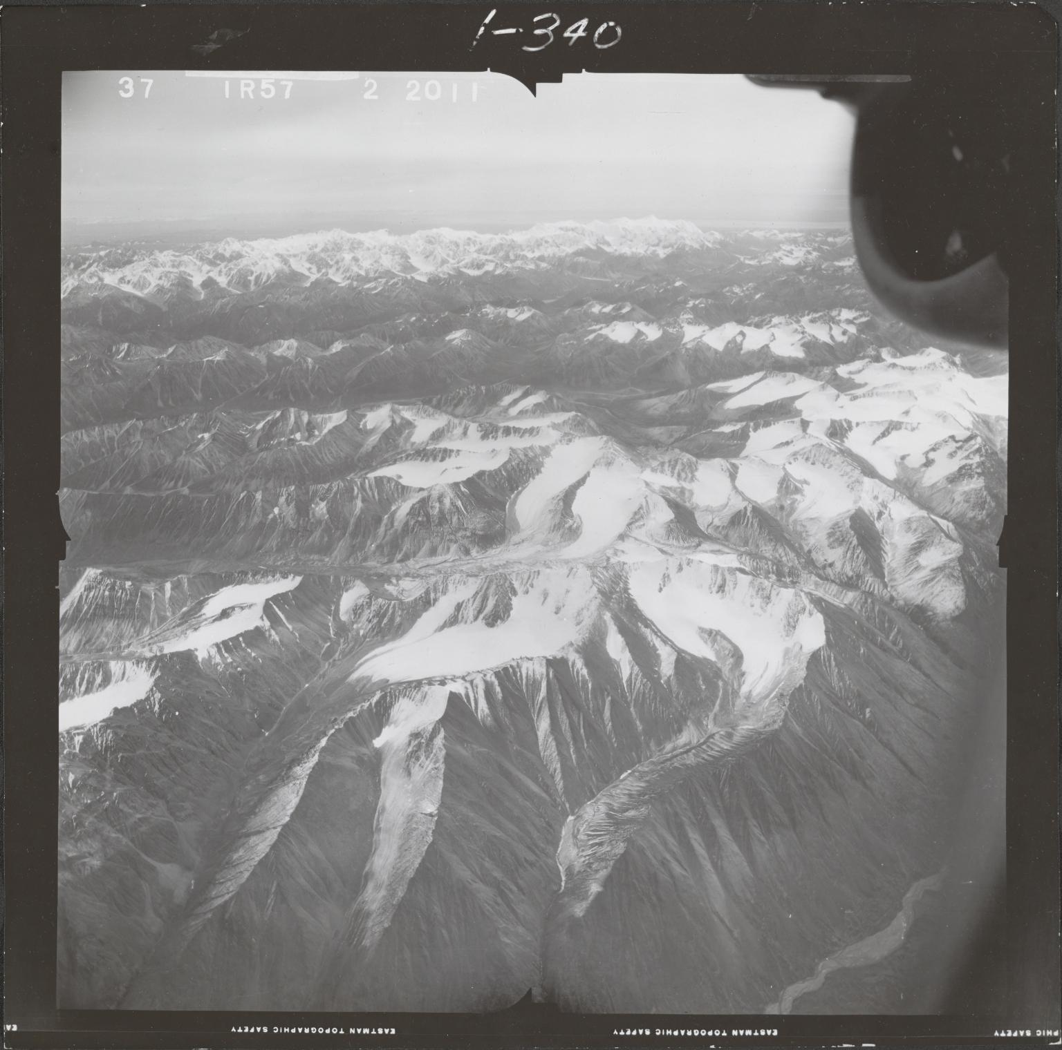 Mount Spurr, aerial photograph FL 68 R-57, Alaska