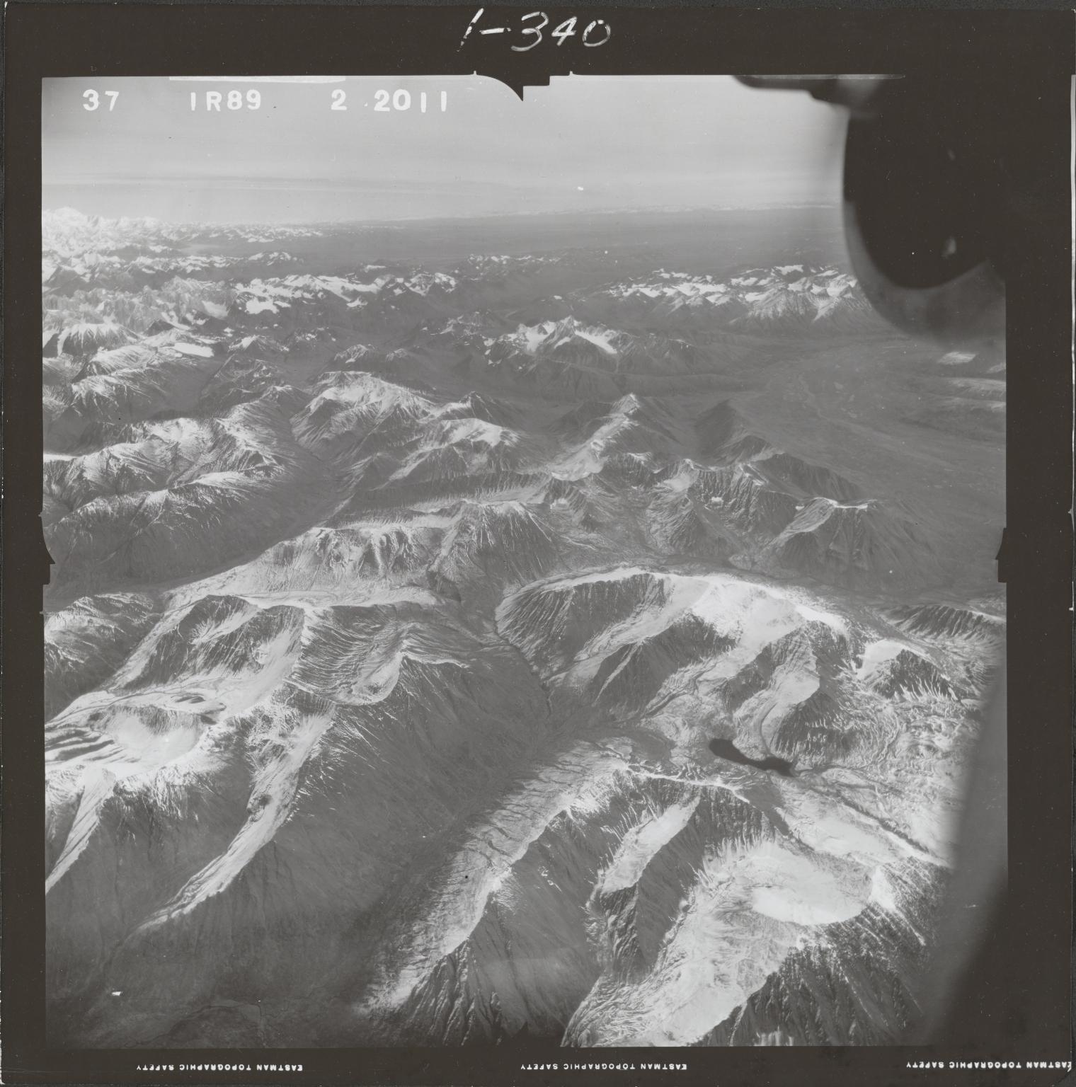 Skwentna River, aerial photograph FL 68 R-89, Alaska