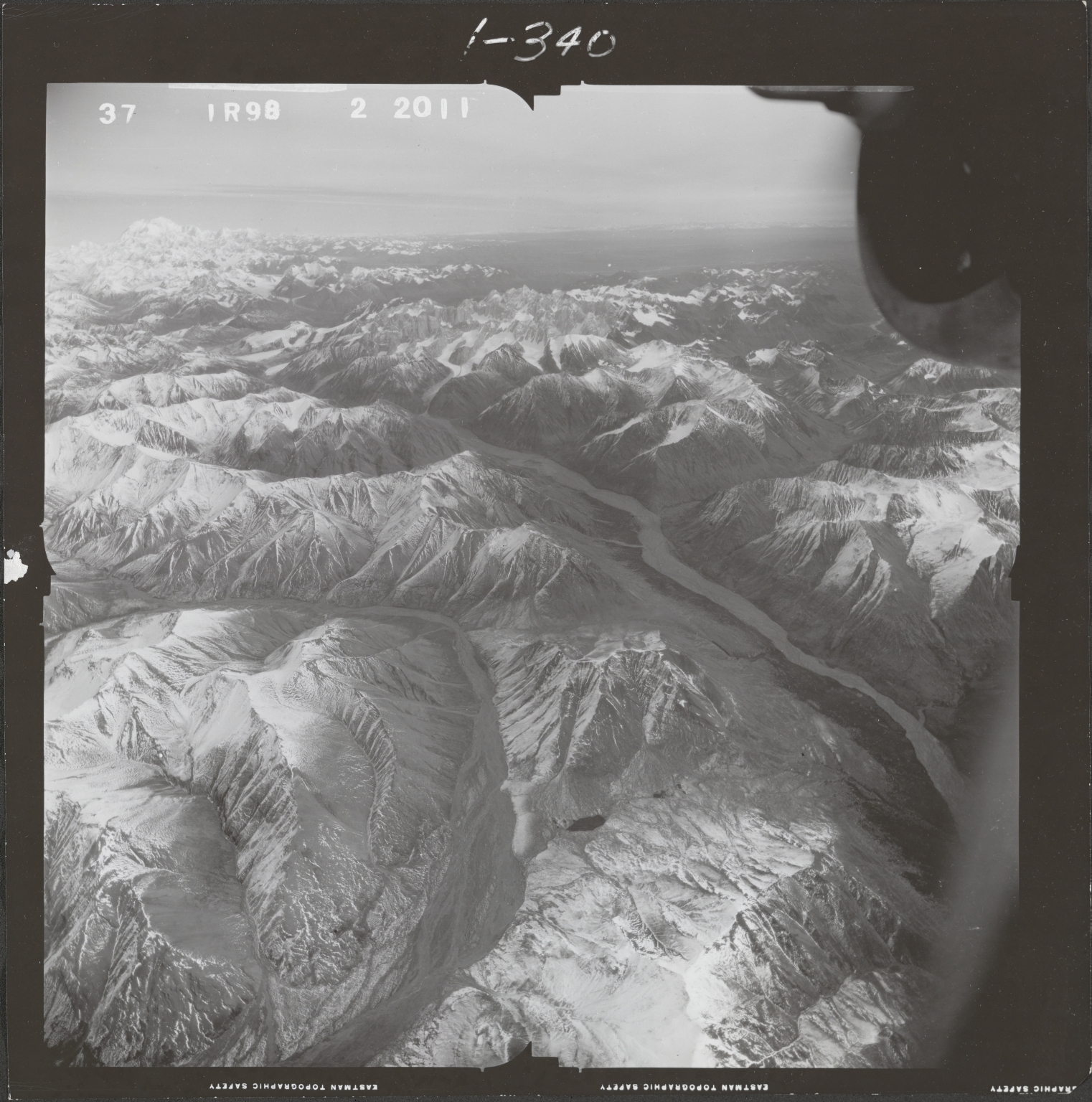 Kuskokwim, aerial photograph FL 68 R-98, Alaska