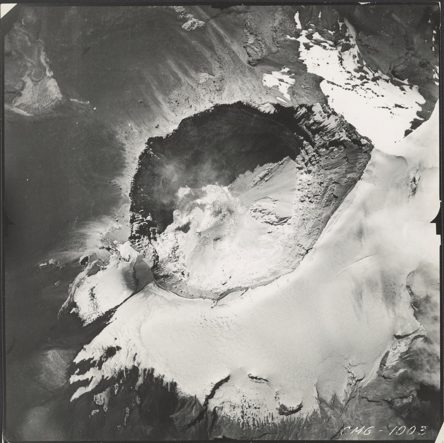 Popocatepetl Glacier, Mexico