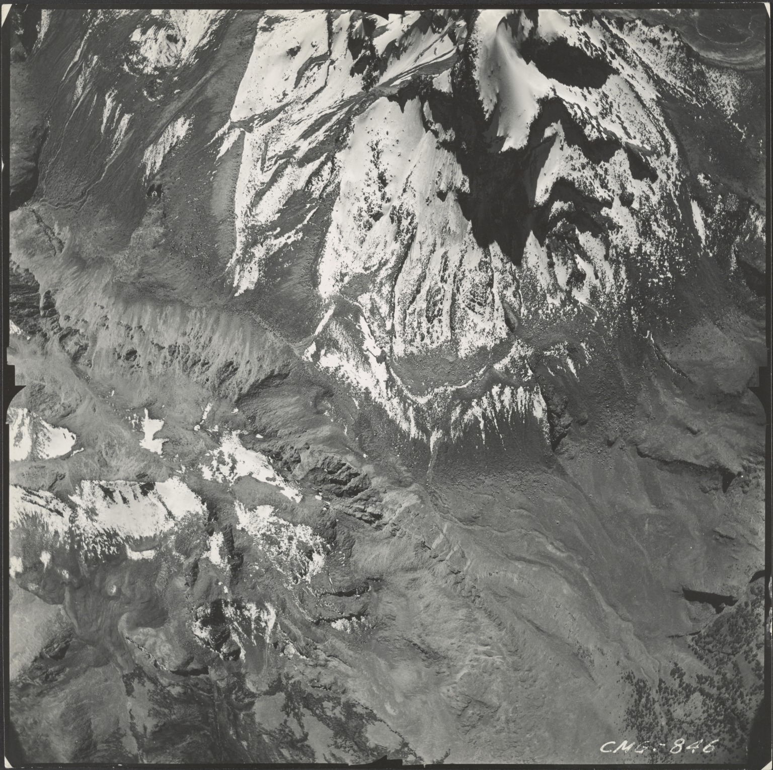 Iztaccihuatl Glacier, Mexico