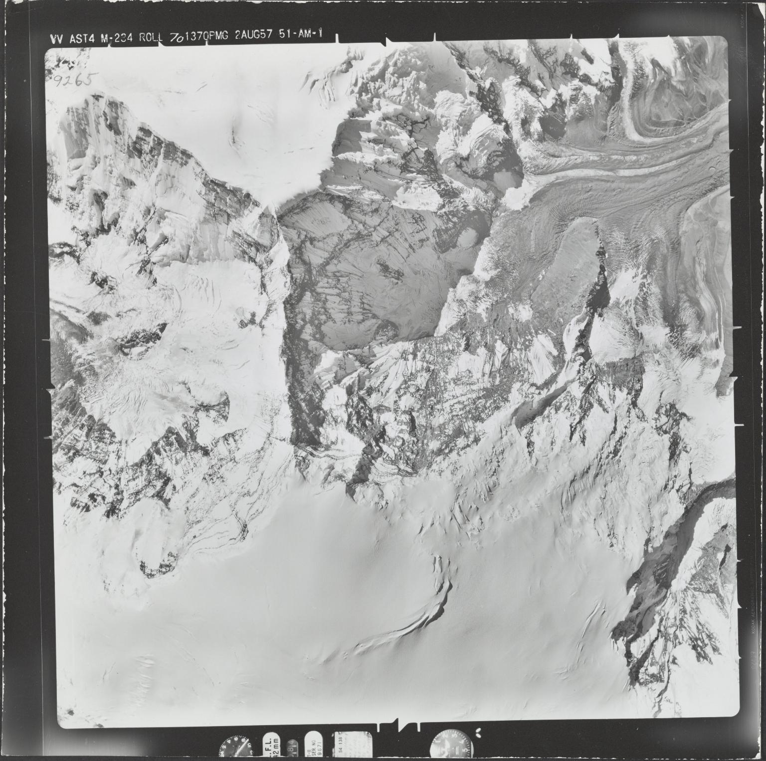 Mount Sanford, aerial photograph M 234 9265, Alaska