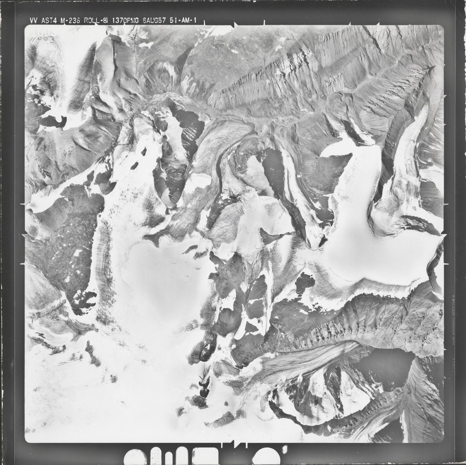 Mount Gordon, aerial photograph M 238 11003, Alaska
