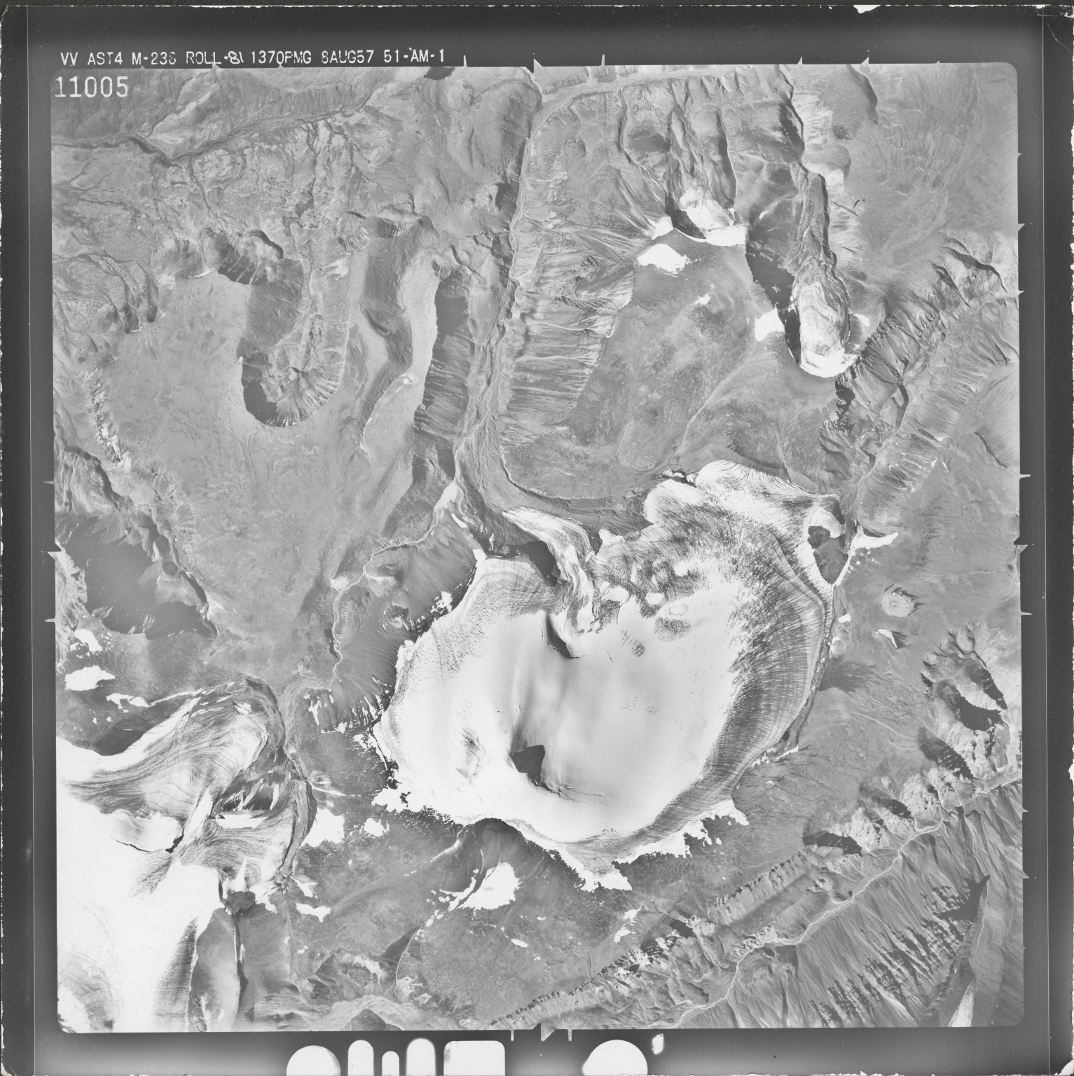 Mount Gordon, aerial photograph M 238 11005, Alaska