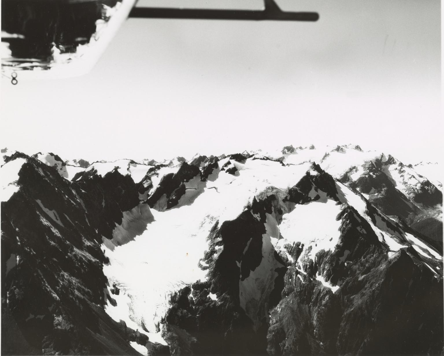 Glacier west of Carrie Glacier, Washington