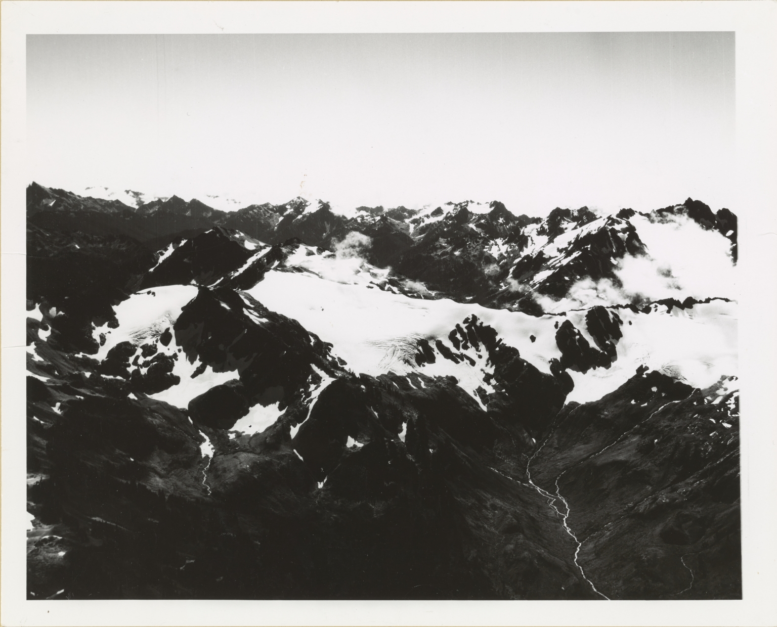 Glaciers on Bailey Range, Washington