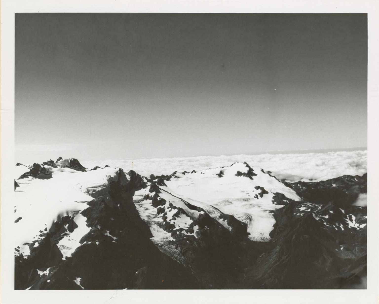 White Glacier and Mud Glacier, Washington
