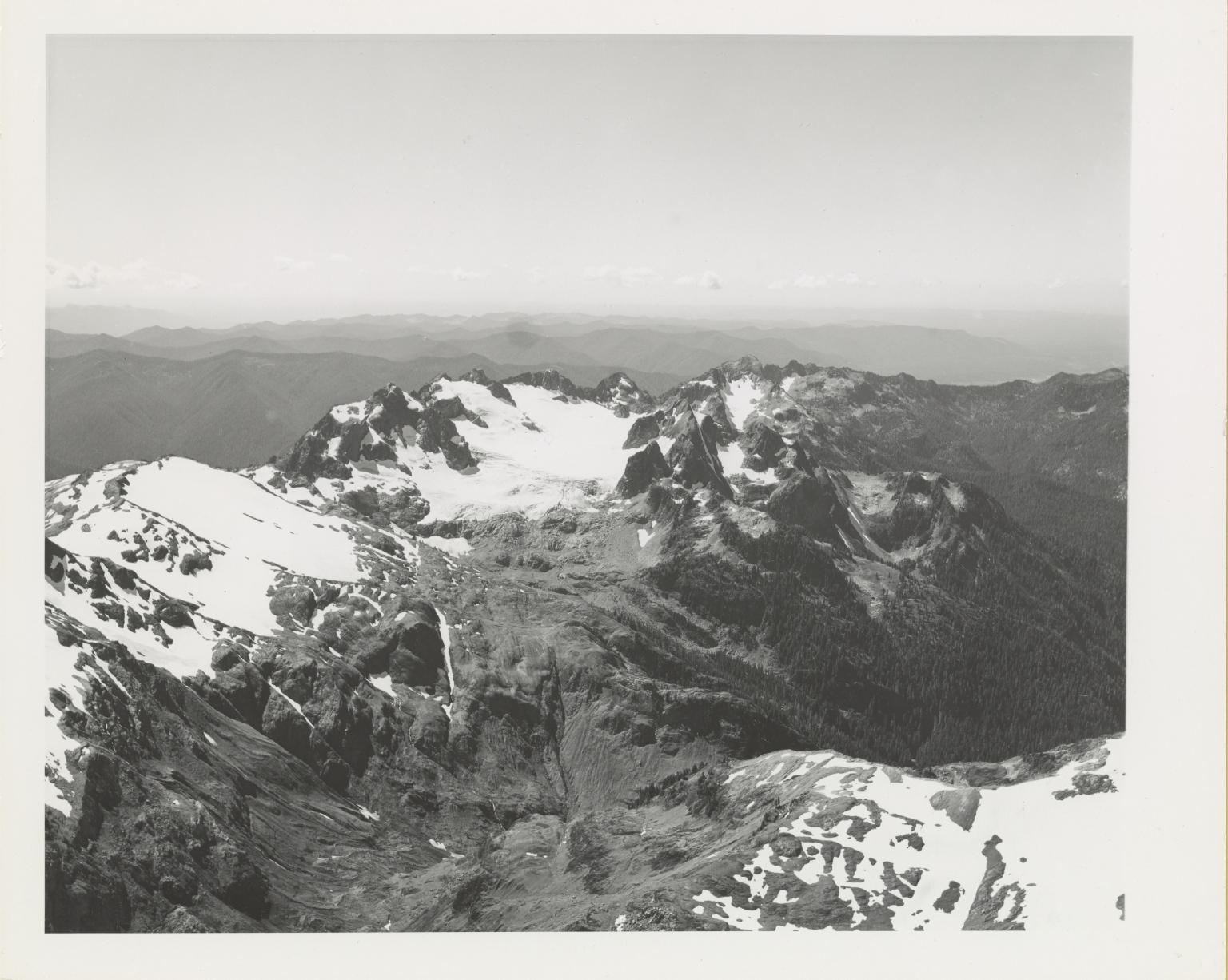 Queets Glacier, Washington