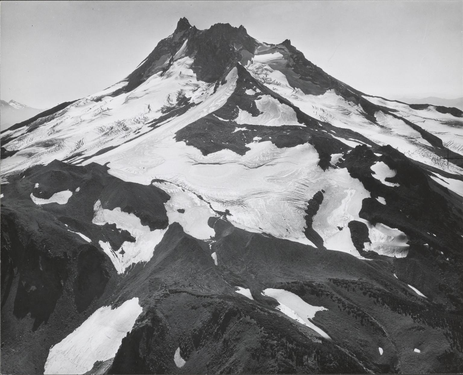 """Unknown glacier (""""Far North Glacier"""") near Mount Jefferson, Oregon"""