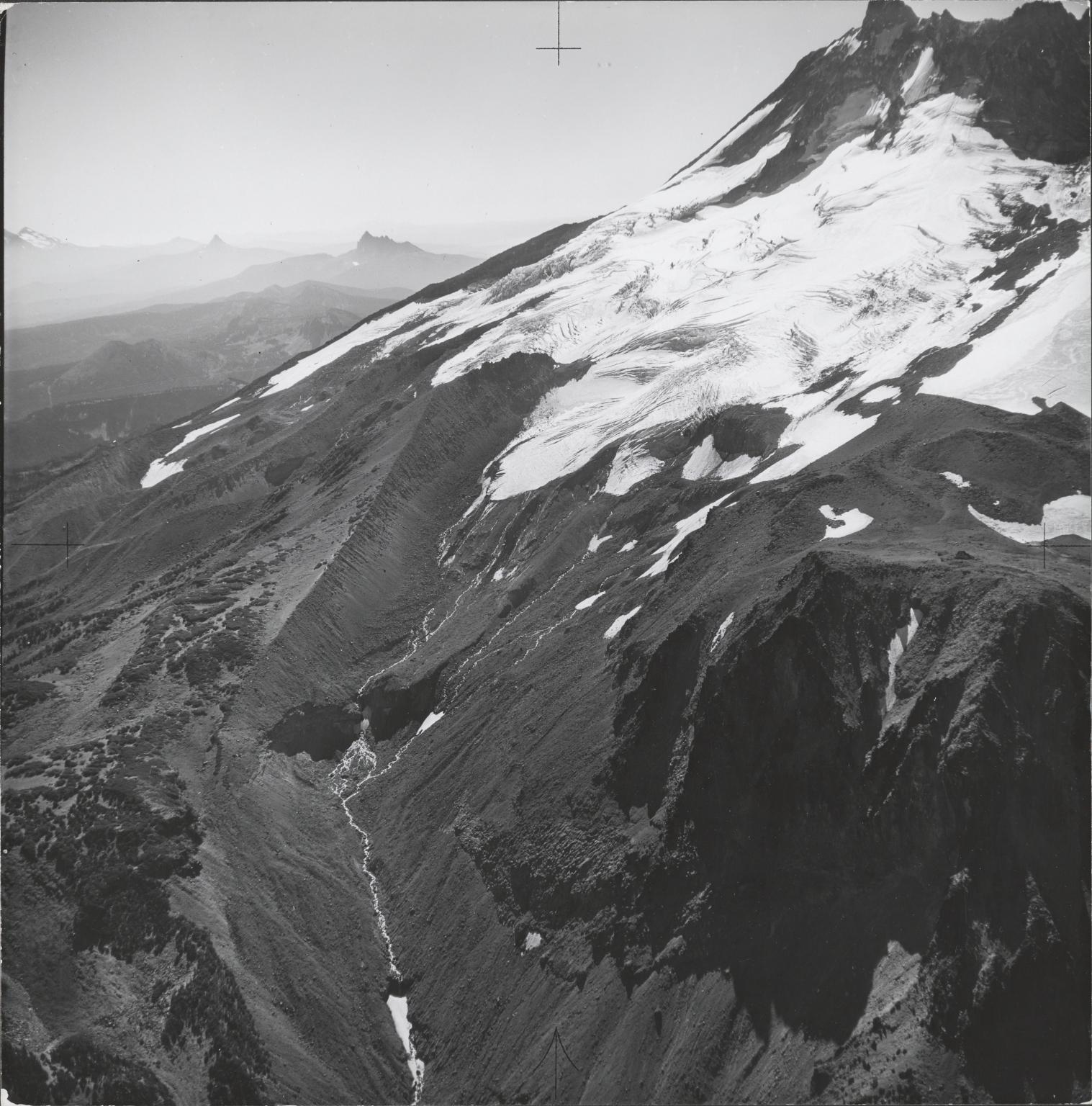 Whitewater Glacier, aerial photograph roll no. 21 exposure no. 39, Oregon